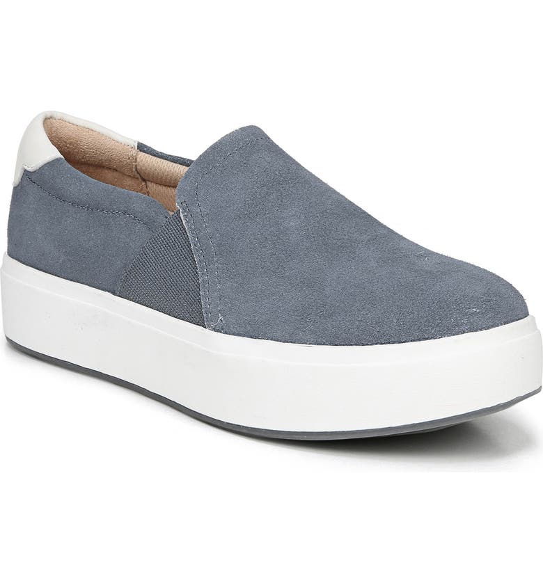 Abbot Lux Sneaker, Main, color, BLUE SUEDE