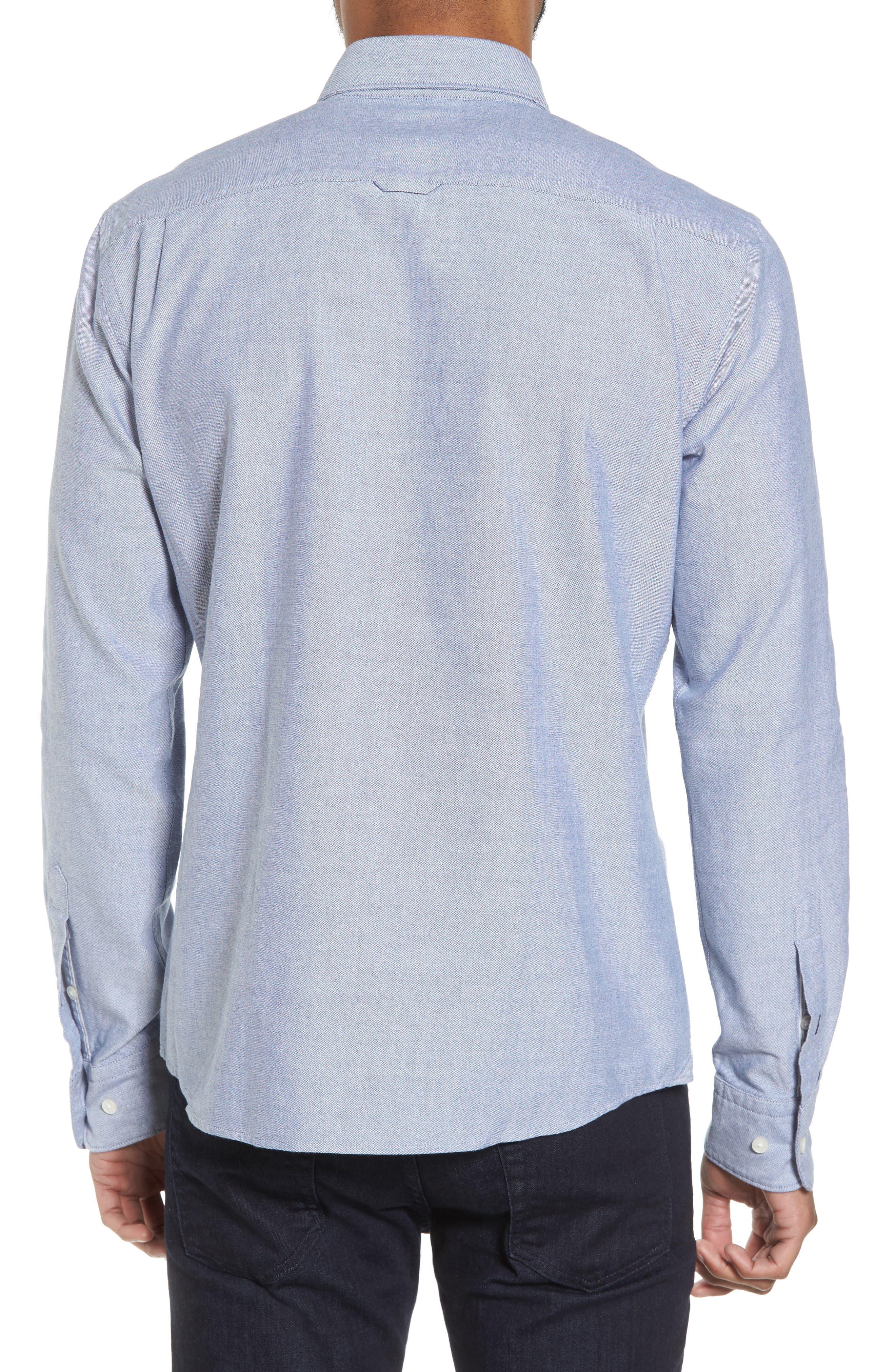 BOSS,                             Rod Trim Fit Solid Sport Shirt,                             Alternate thumbnail 2, color,                             403
