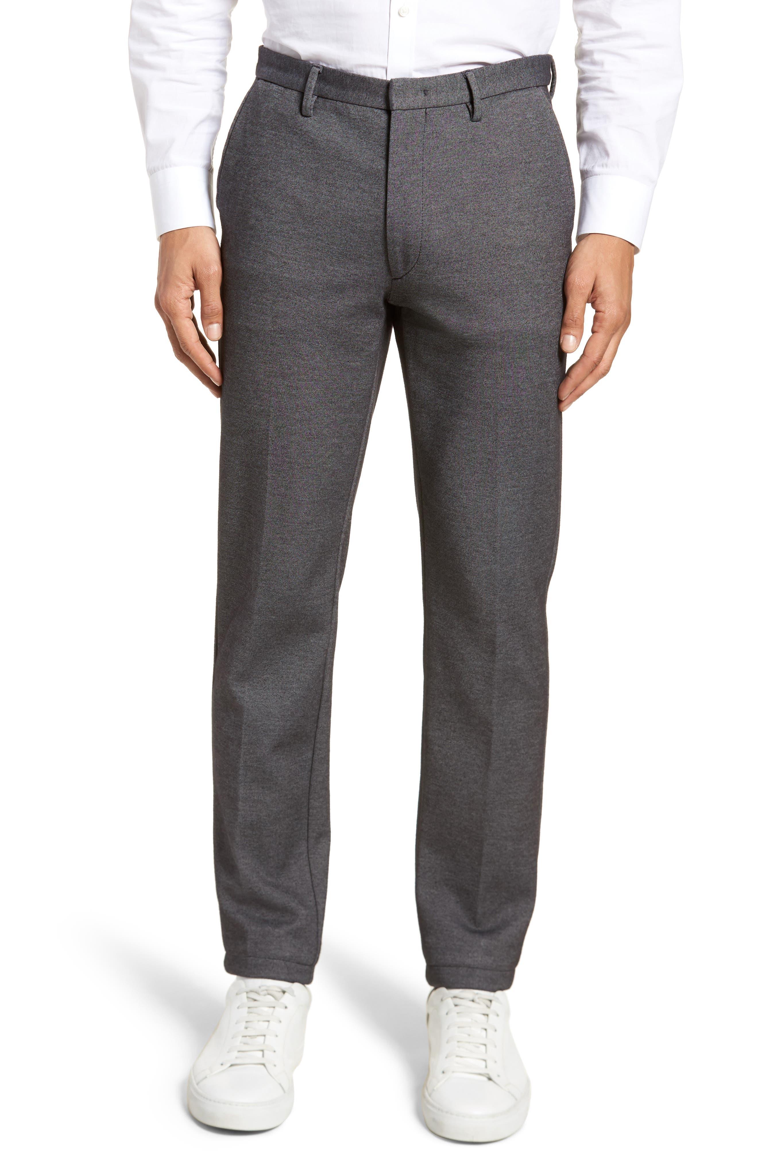 Kaito Melange Cotton Blend Pants,                             Main thumbnail 1, color,                             030