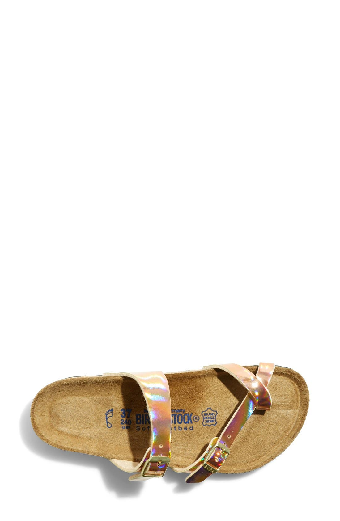 BIRKENSTOCK,                             'Mayari' Birko-Flor<sup>™</sup> Soft Footbed Sandal,                             Alternate thumbnail 3, color,                             750