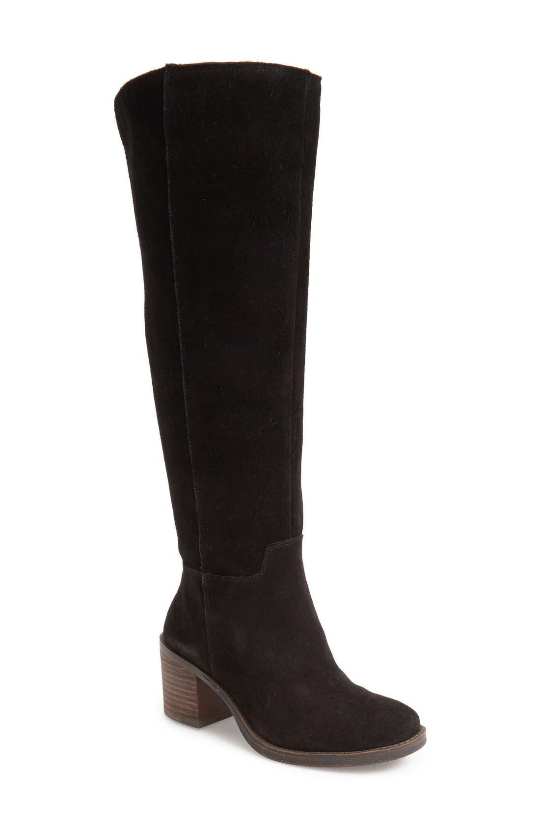 LUCKY BRAND Ritten Tall Boot, Main, color, 002
