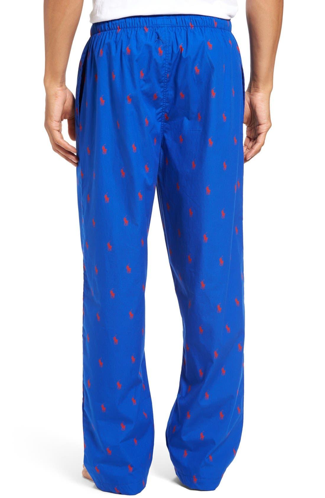 Cotton Lounge Pants,                             Alternate thumbnail 22, color,
