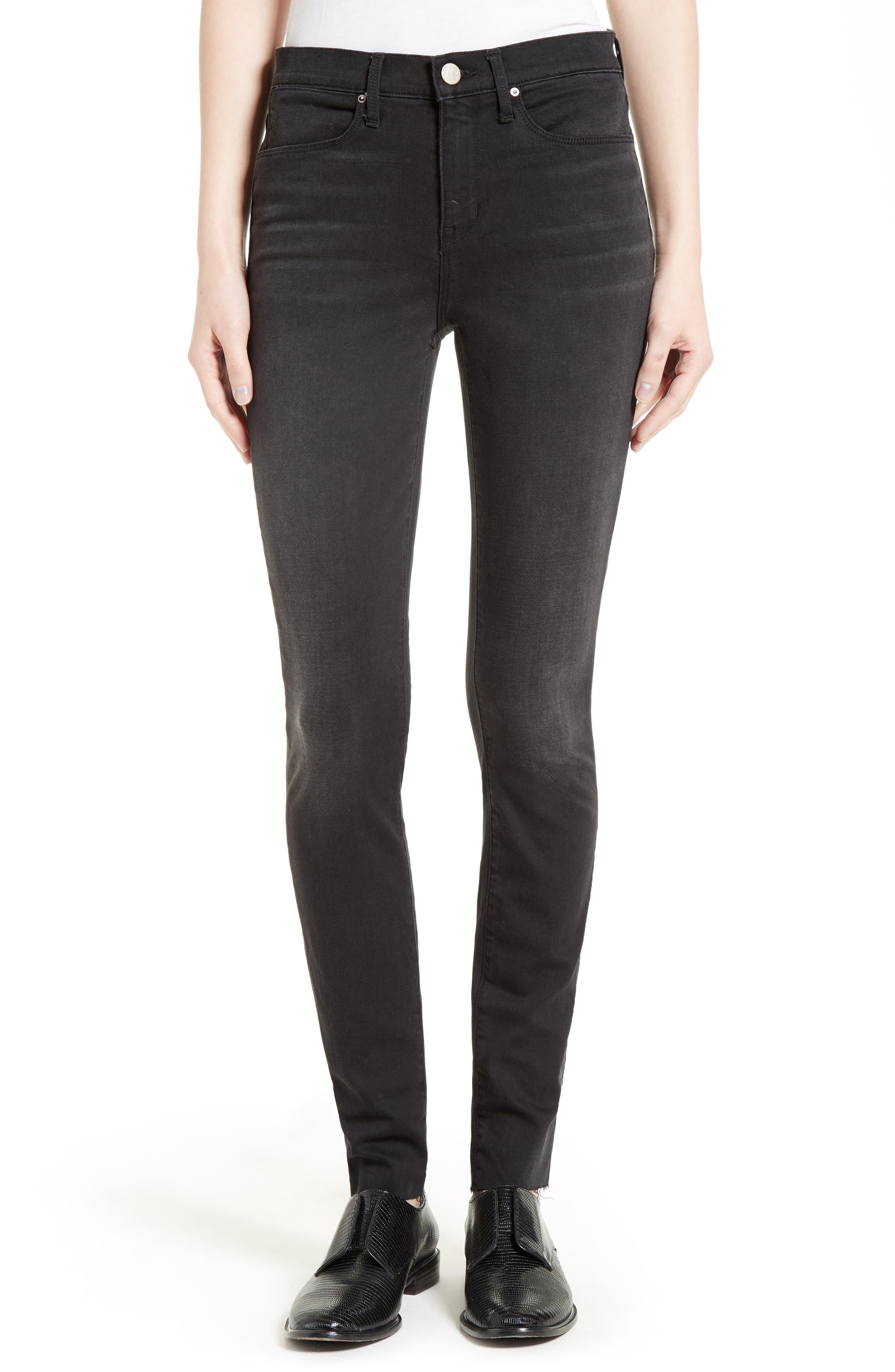 The Skinny Stretch Denim Jeans,                         Main,                         color, 001