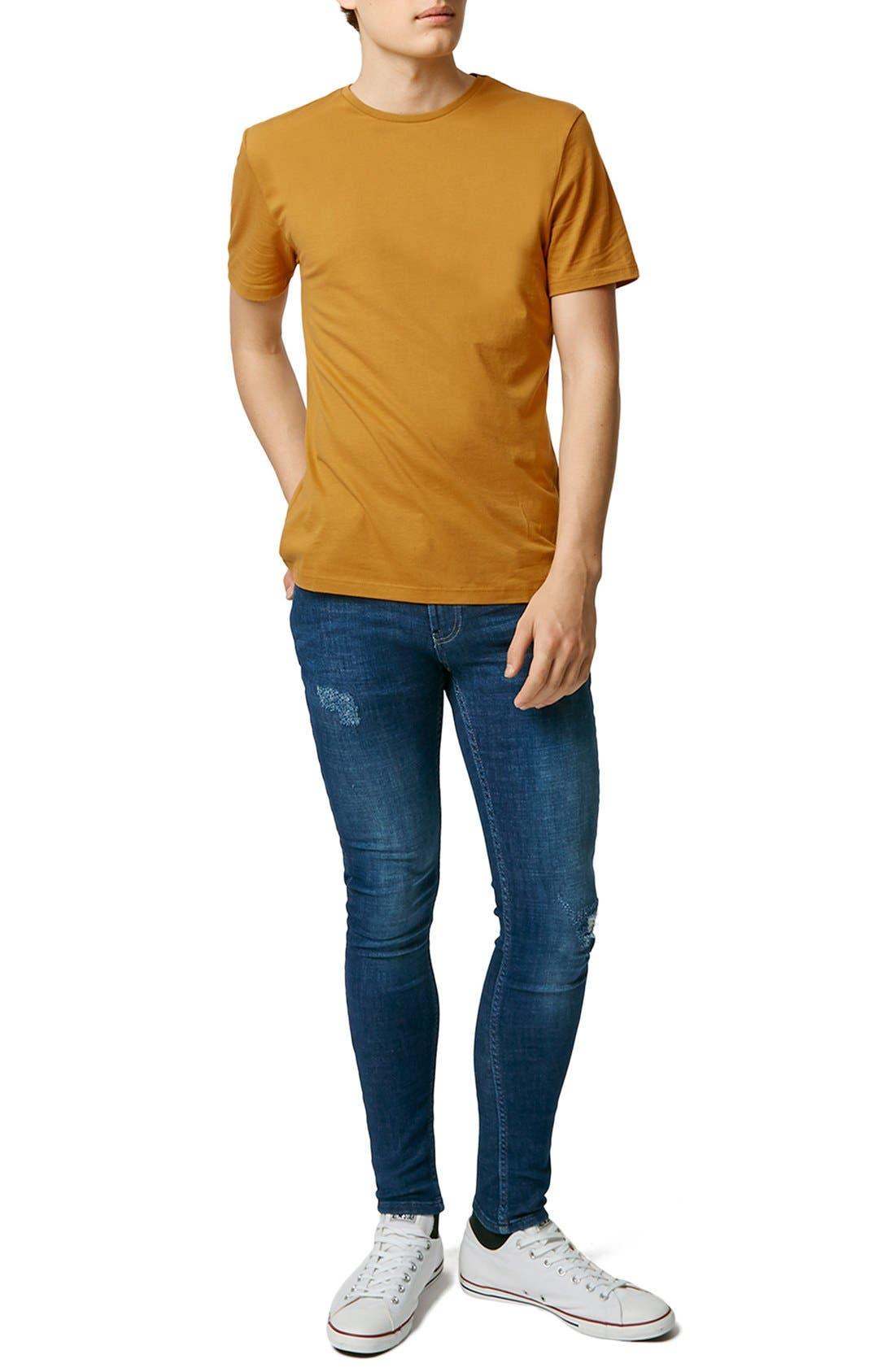 Slim Fit Crewneck T-Shirt,                             Alternate thumbnail 375, color,
