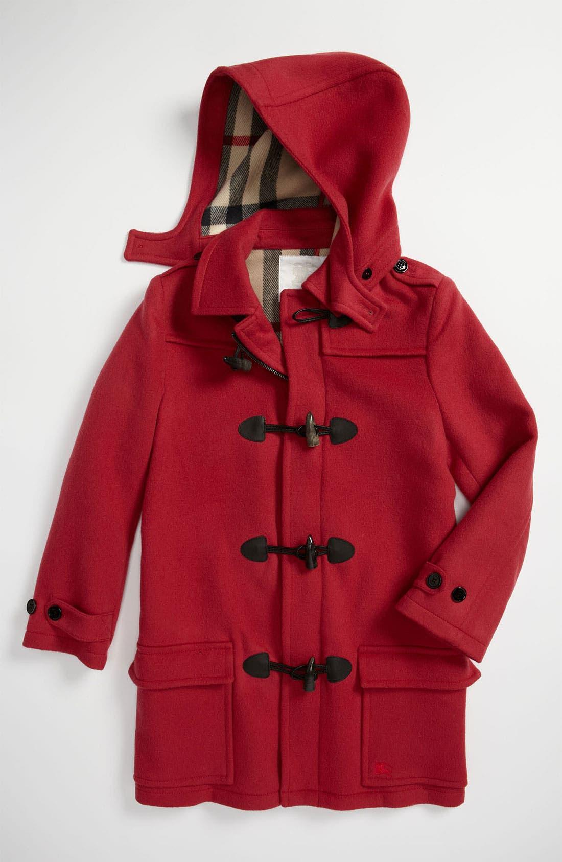 Wool Duffle Coat,                             Main thumbnail 2, color,