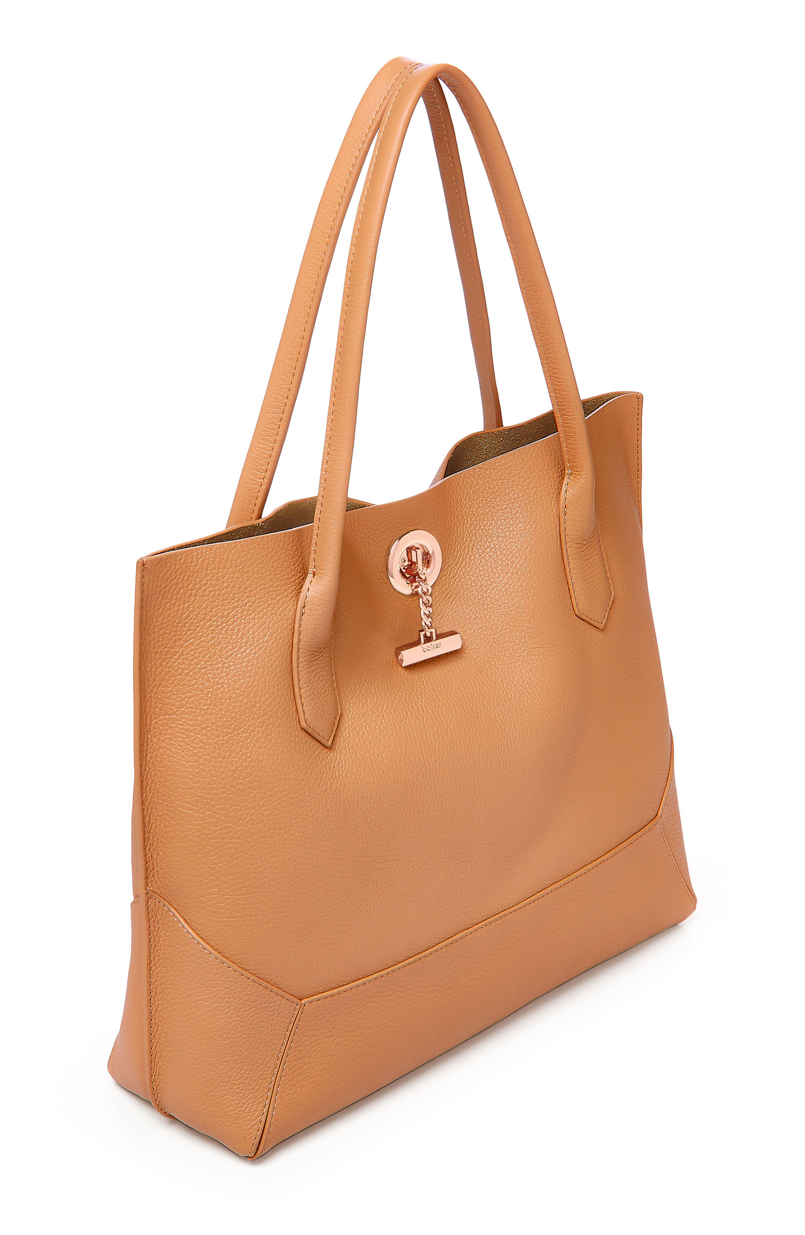 Waverly Leather Tote,                             Alternate thumbnail 21, color,
