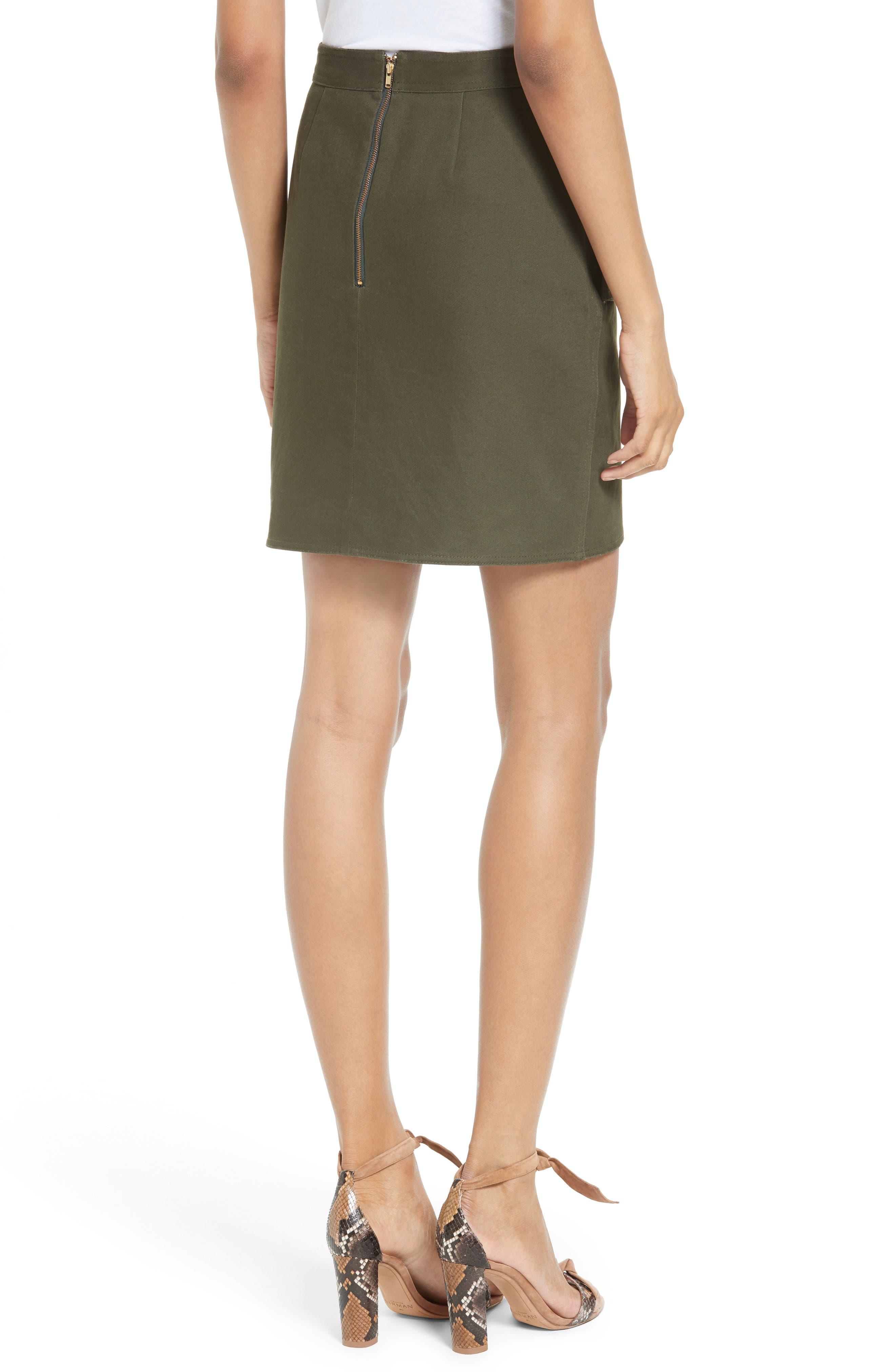Utility Miniskirt,                             Alternate thumbnail 2, color,                             300
