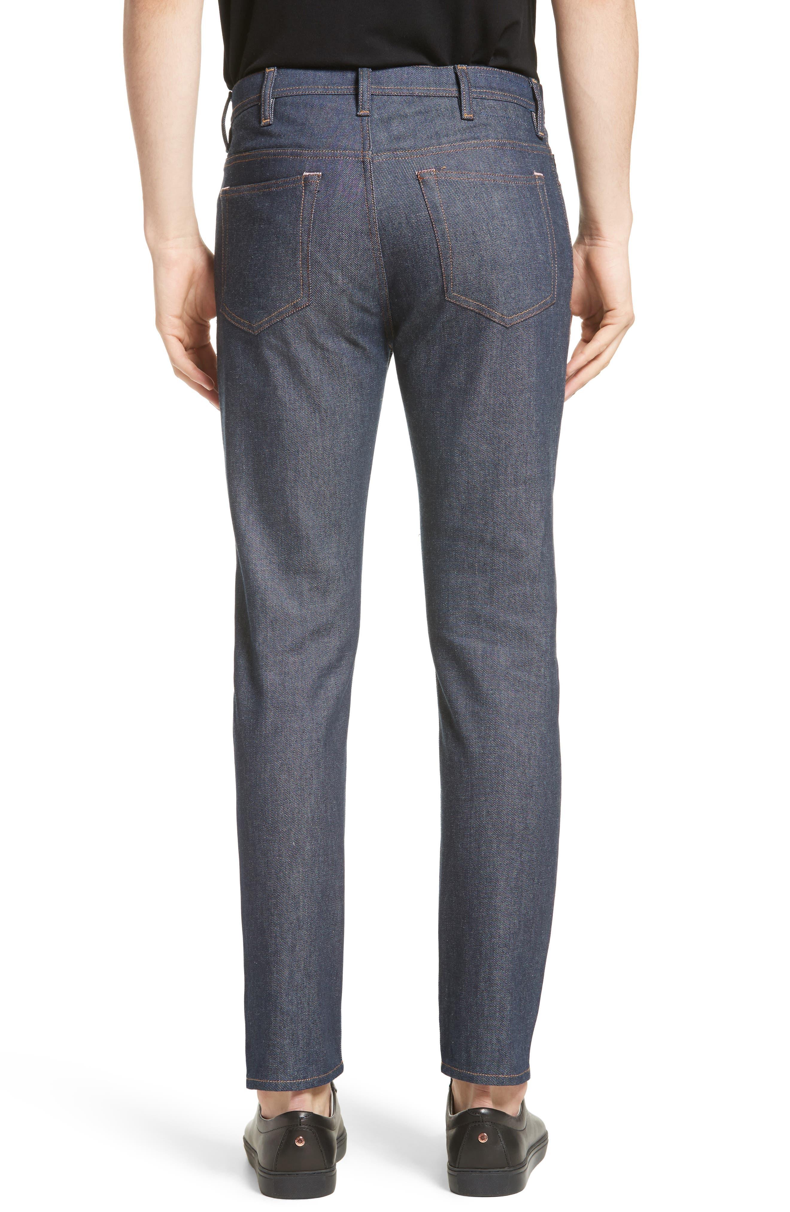 River Slim Tapered Leg Jeans,                             Alternate thumbnail 2, color,                             INDIGO