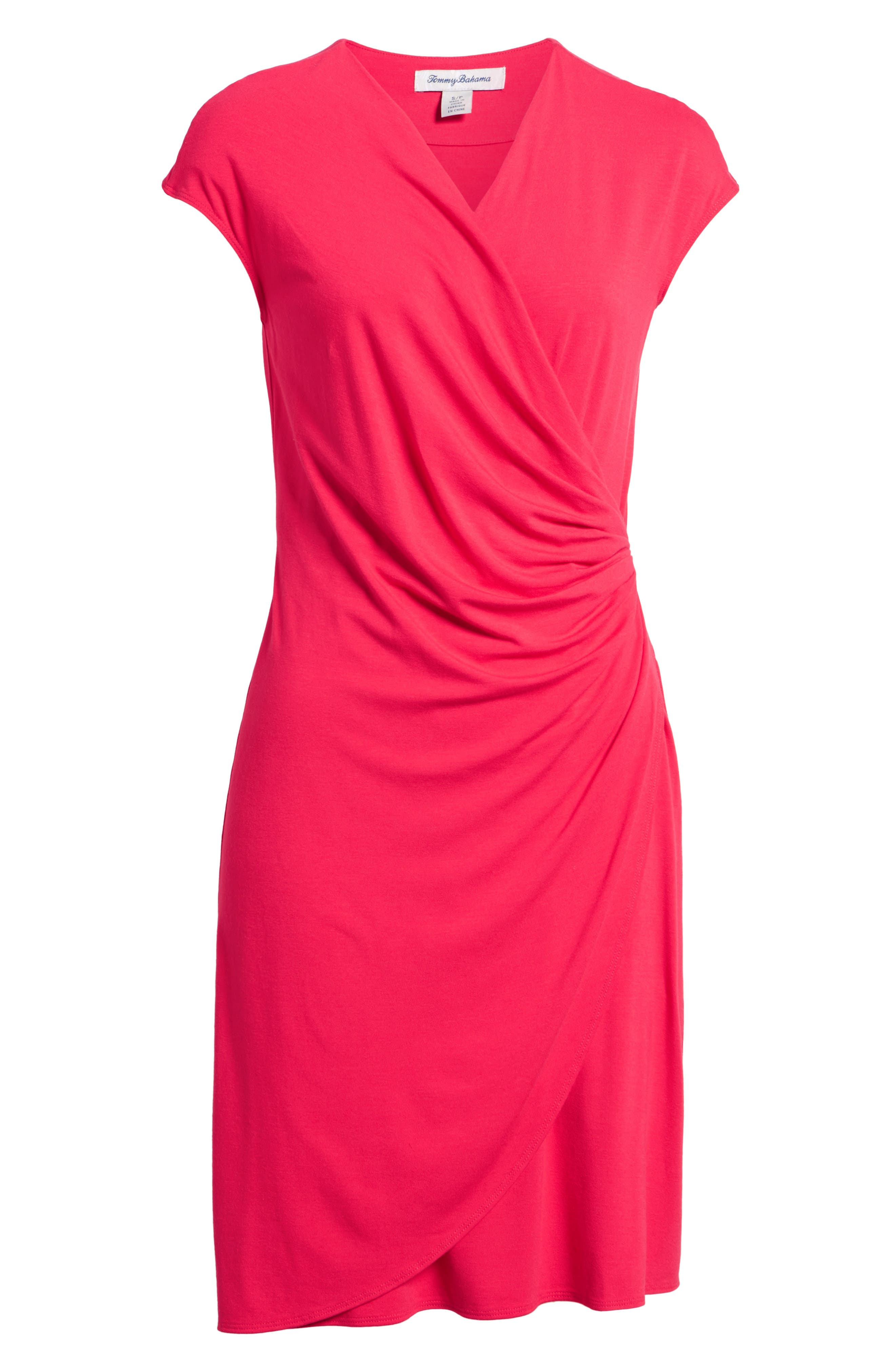 'Tambour' Side Gathered Dress,                             Alternate thumbnail 37, color,