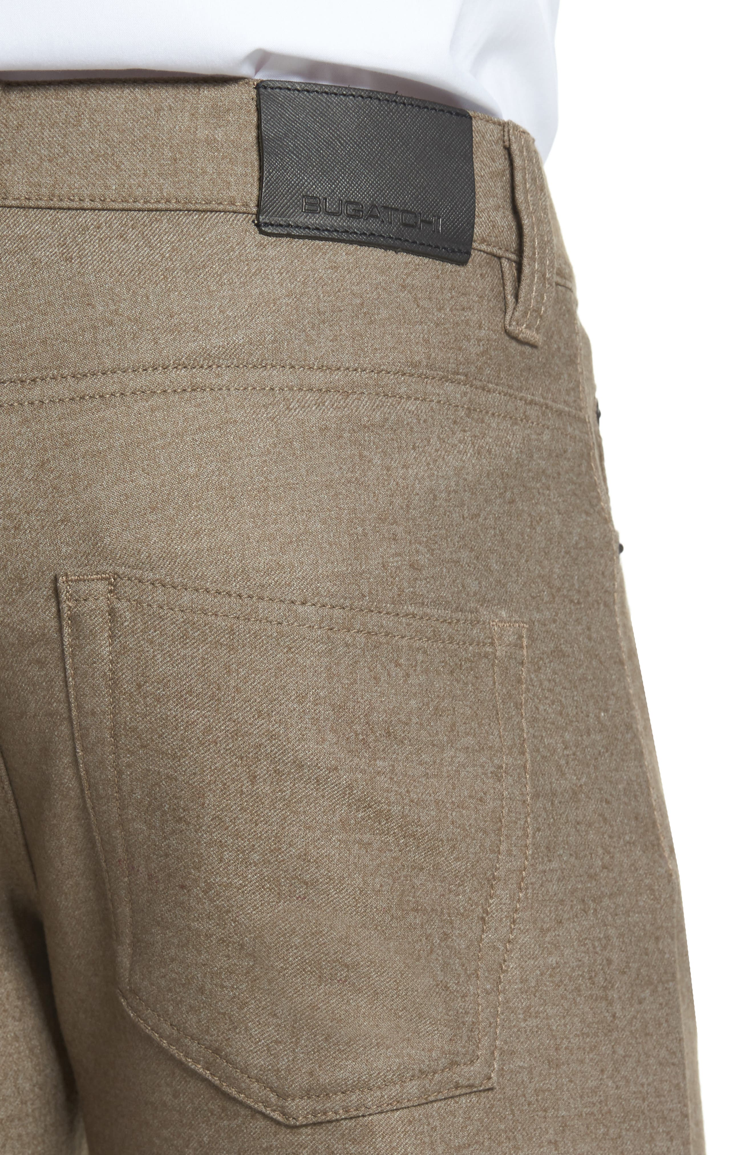 Wool Blend Pants,                             Alternate thumbnail 4, color,                             208