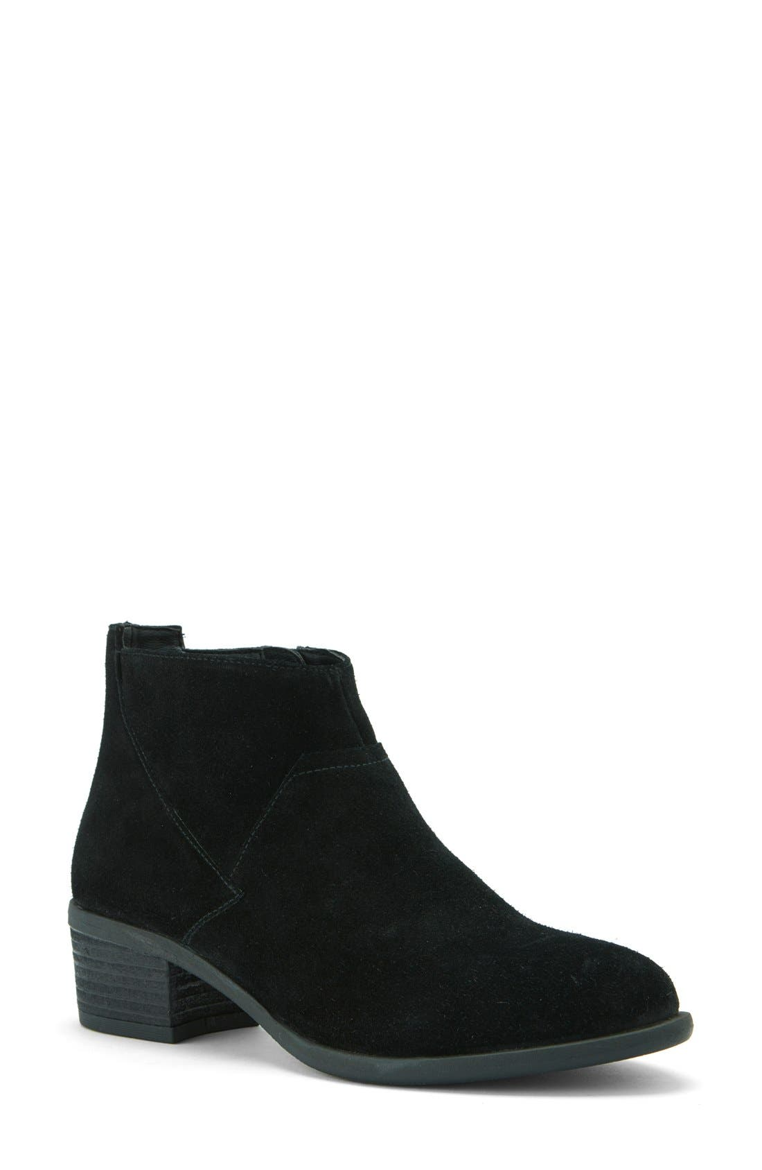 'Maddie' Waterproof Ankle Boot,                             Main thumbnail 1, color,                             006