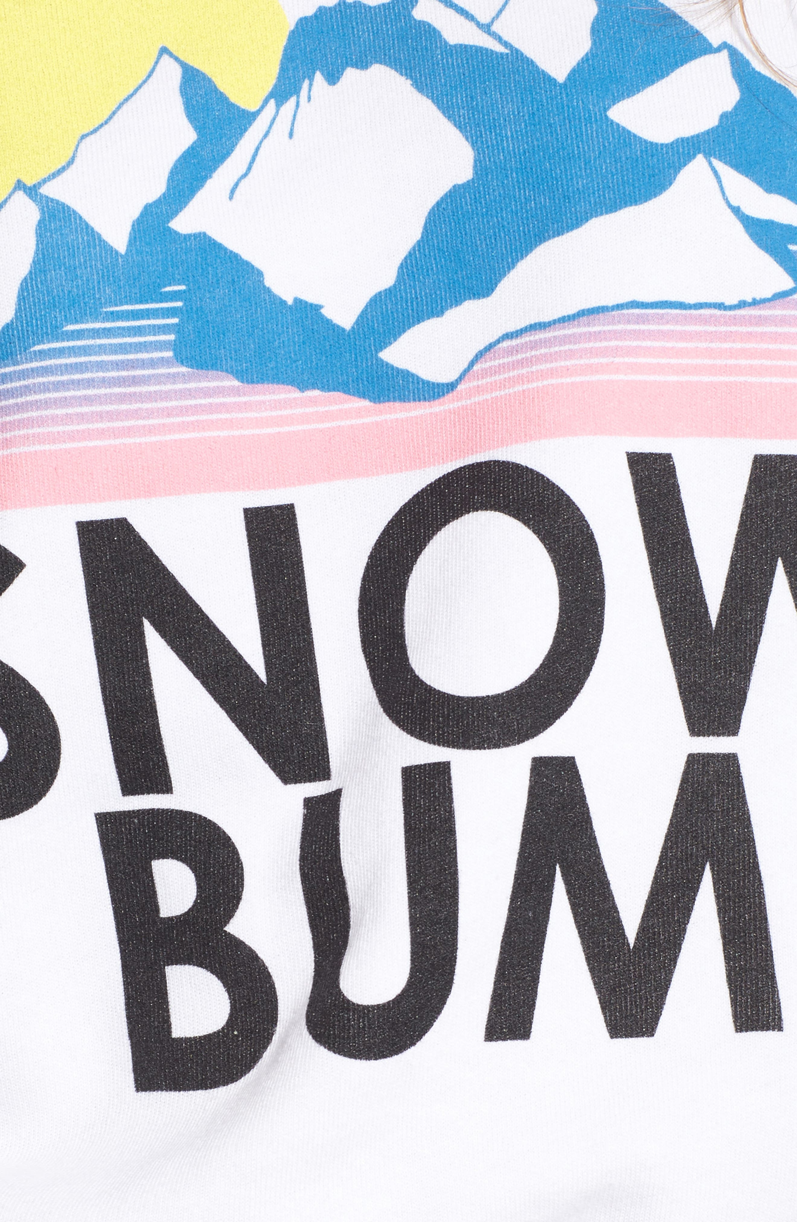 Snow Bum Sweatshirt,                             Alternate thumbnail 5, color,