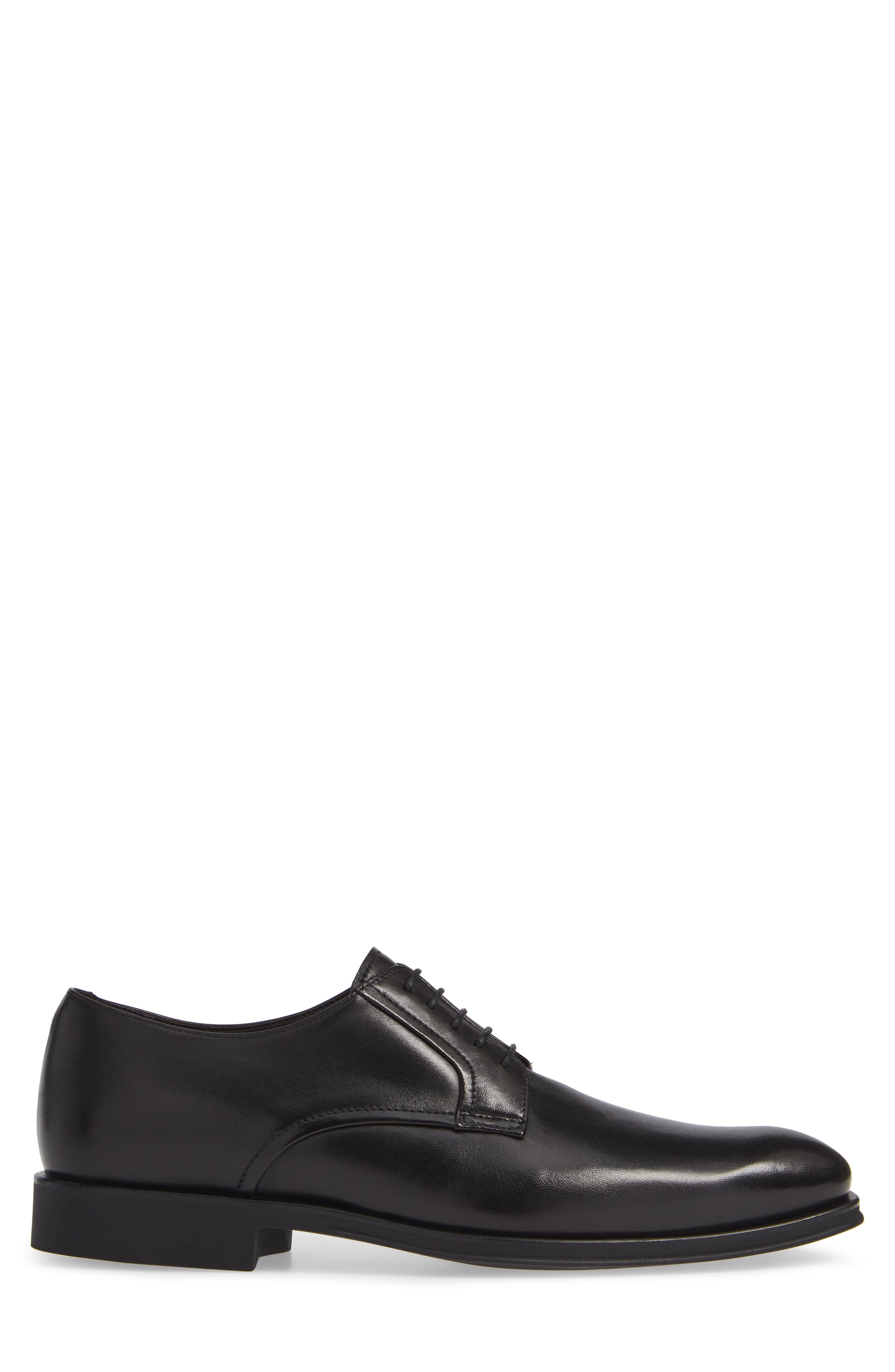 MS Zurich Oxford,                             Alternate thumbnail 3, color,                             BLACK LEATHER