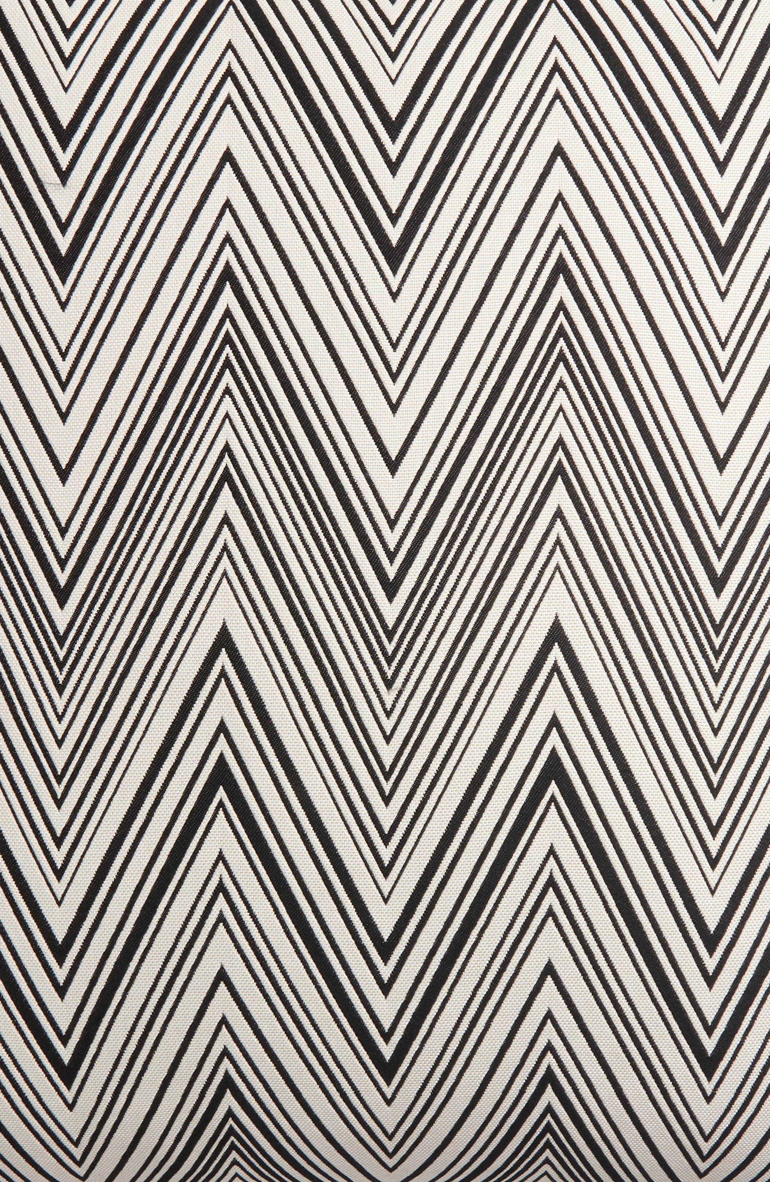 Chevron Accent Pillow,                             Alternate thumbnail 3, color,                             020
