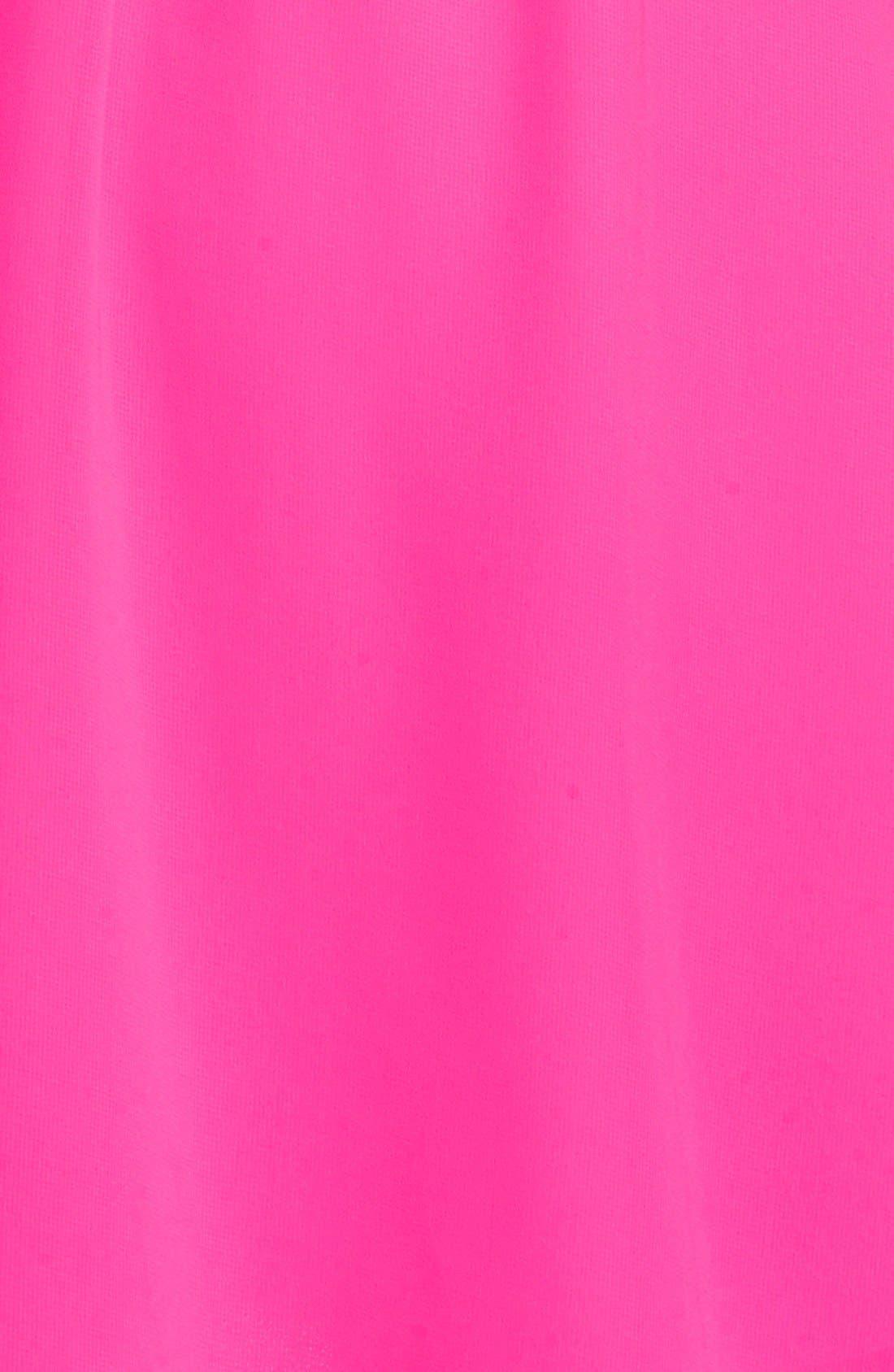 Blouson Chiffon Skater Dress,                             Alternate thumbnail 102, color,