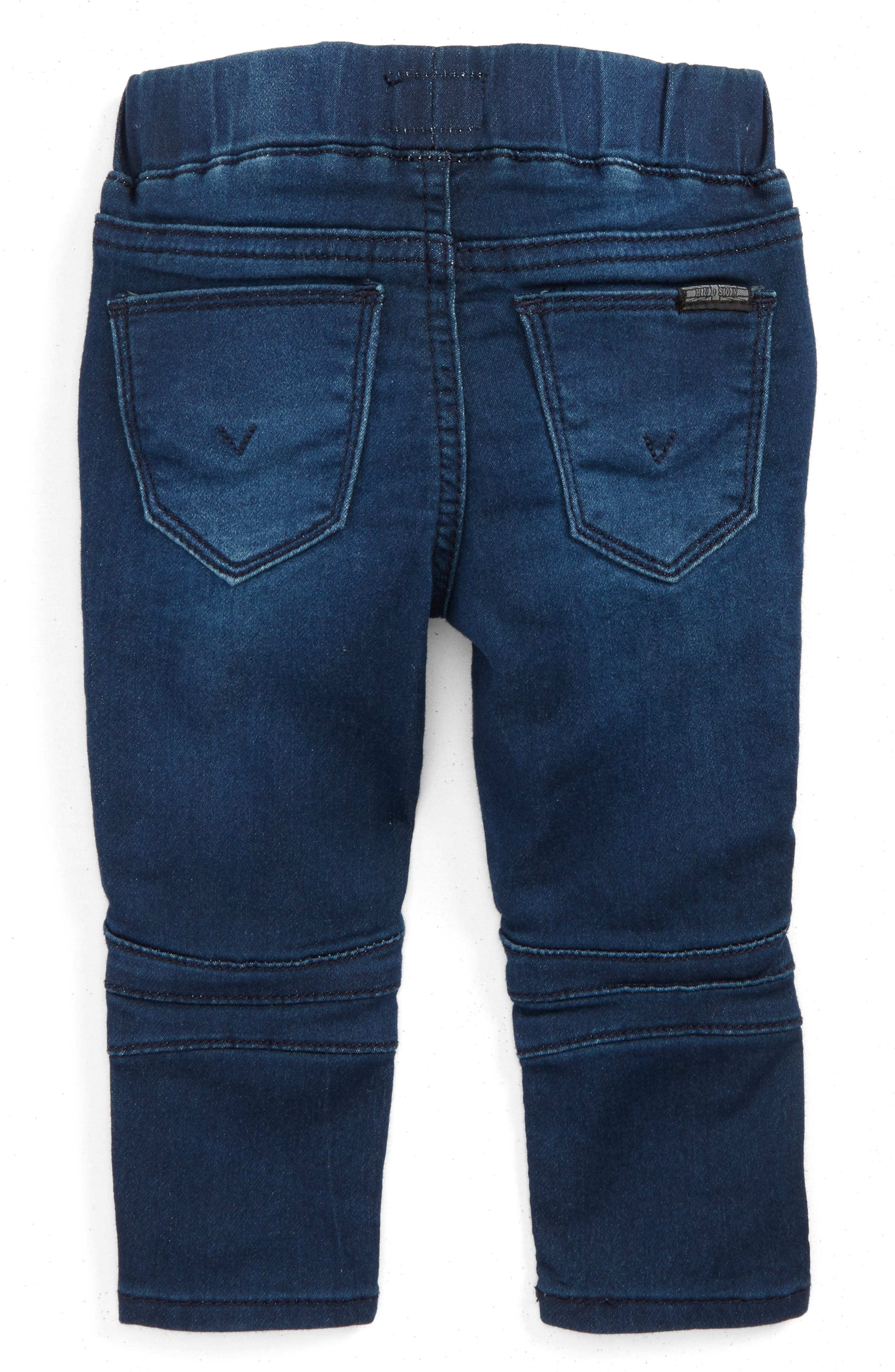 Moto Skinny Jeans,                             Alternate thumbnail 2, color,                             476
