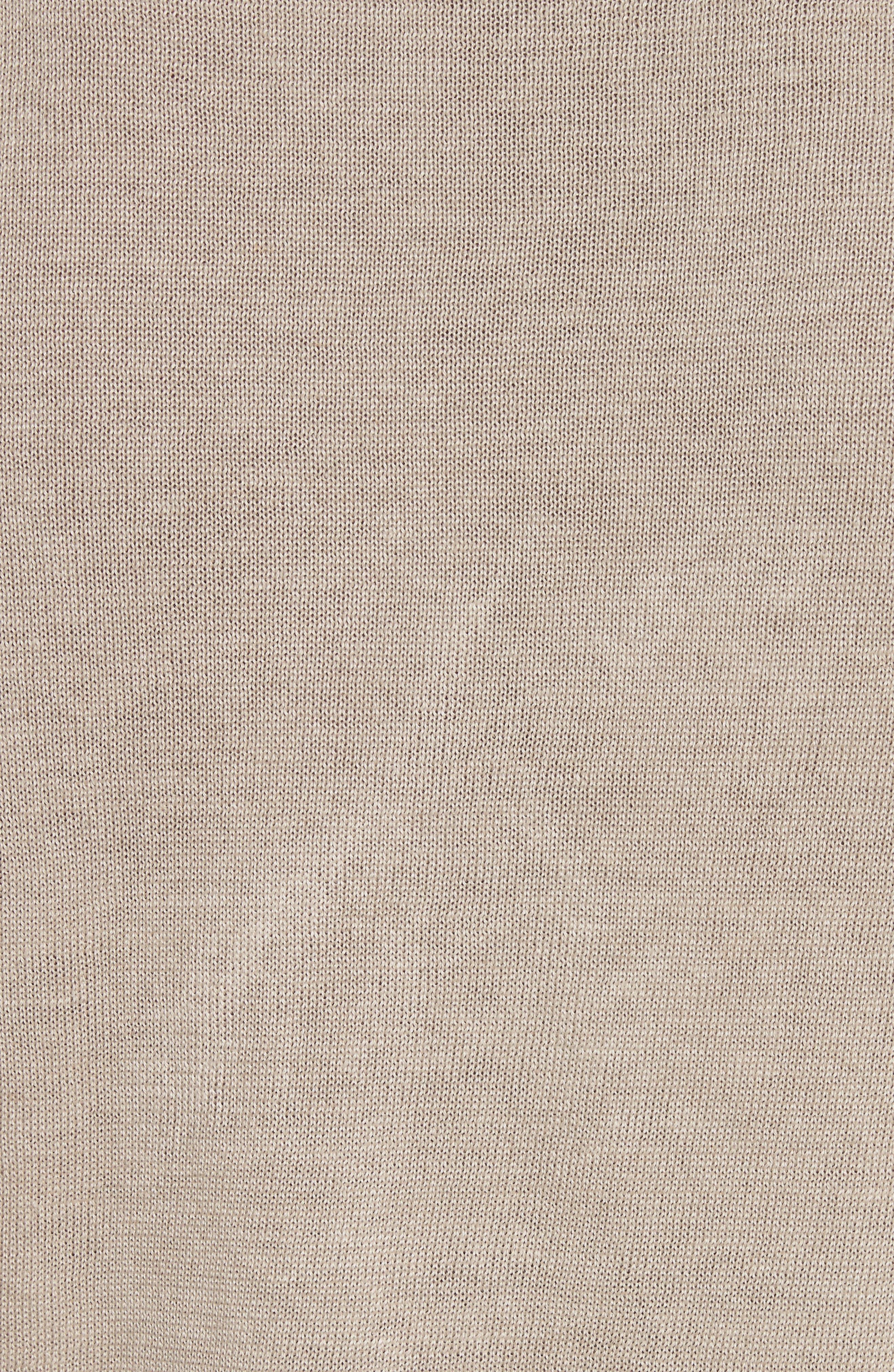 Exford Linen Crewneck Sweater,                             Alternate thumbnail 9, color,
