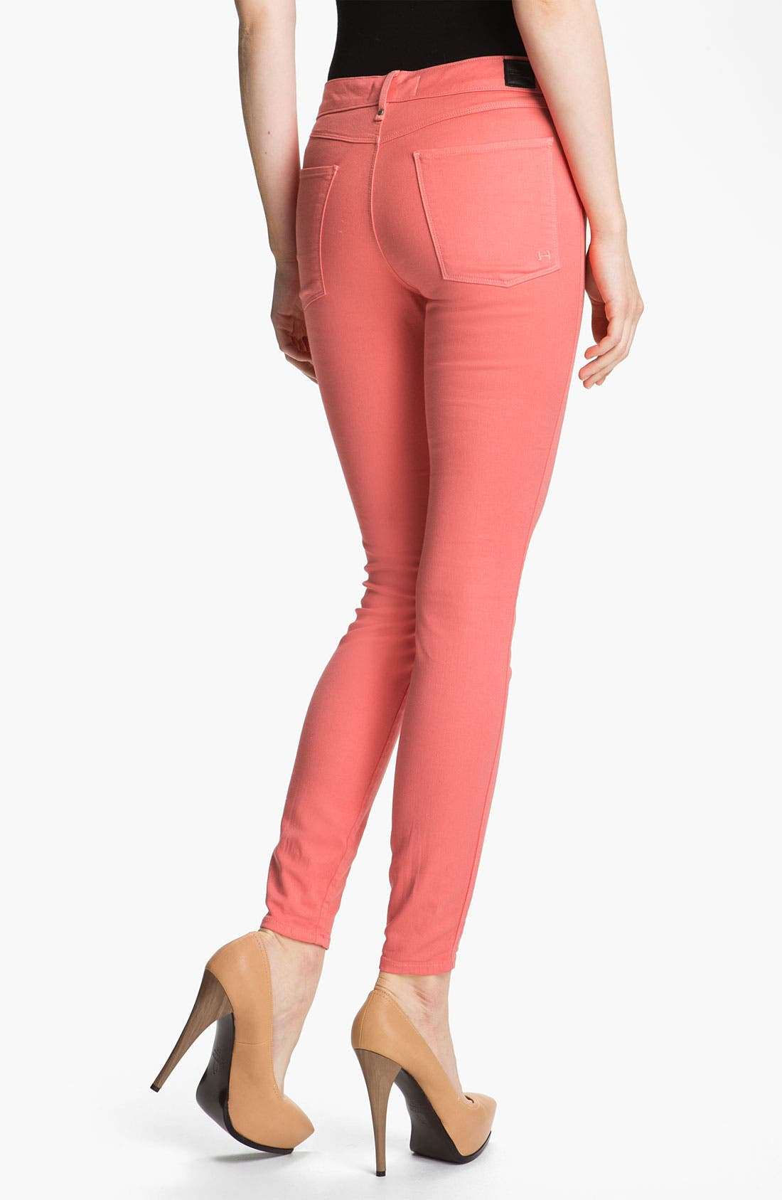 'Grace' High Rise Skinny Stretch Jeans,                             Alternate thumbnail 2, color,                             675