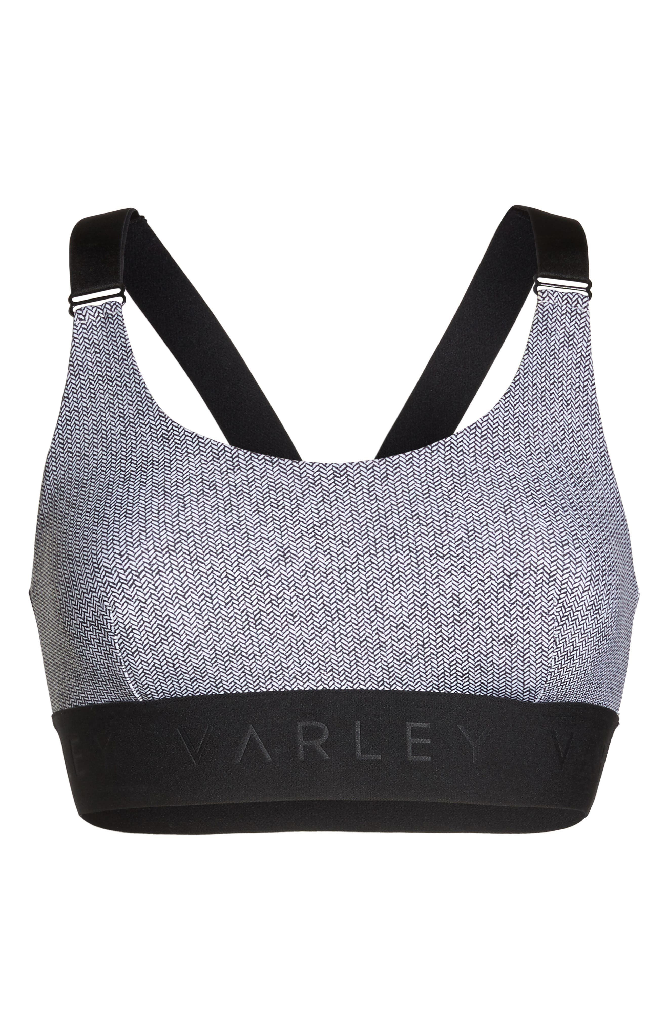 Gale Sports Bra,                             Alternate thumbnail 7, color,                             001