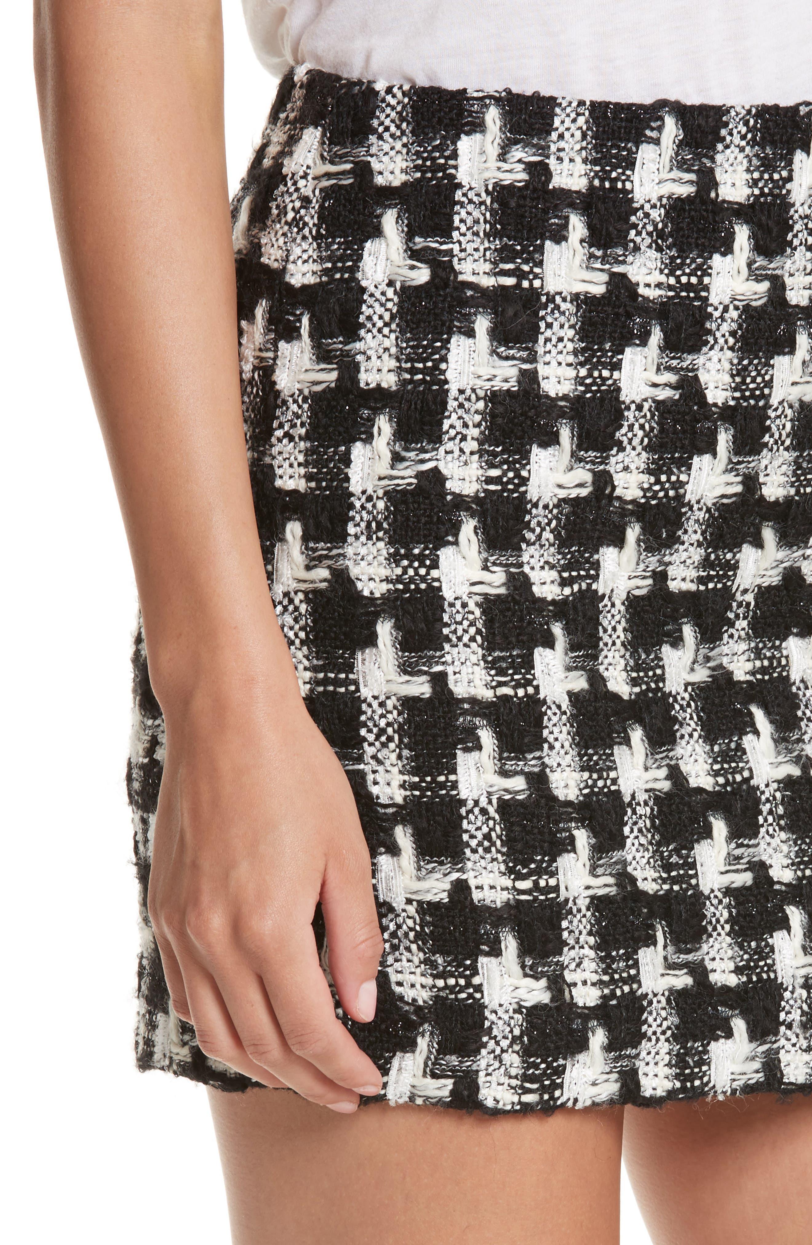 Elana Miniskirt,                             Alternate thumbnail 4, color,                             009