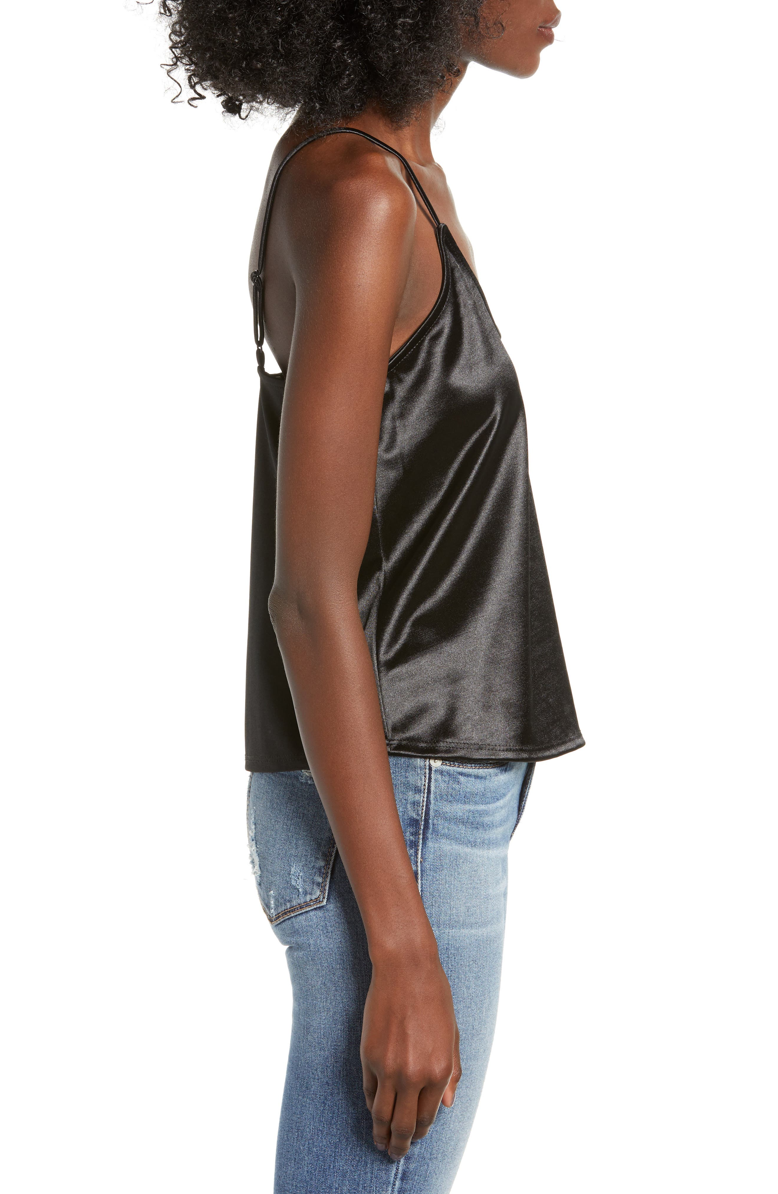 Everyday Camisole,                             Alternate thumbnail 3, color,                             BLACK