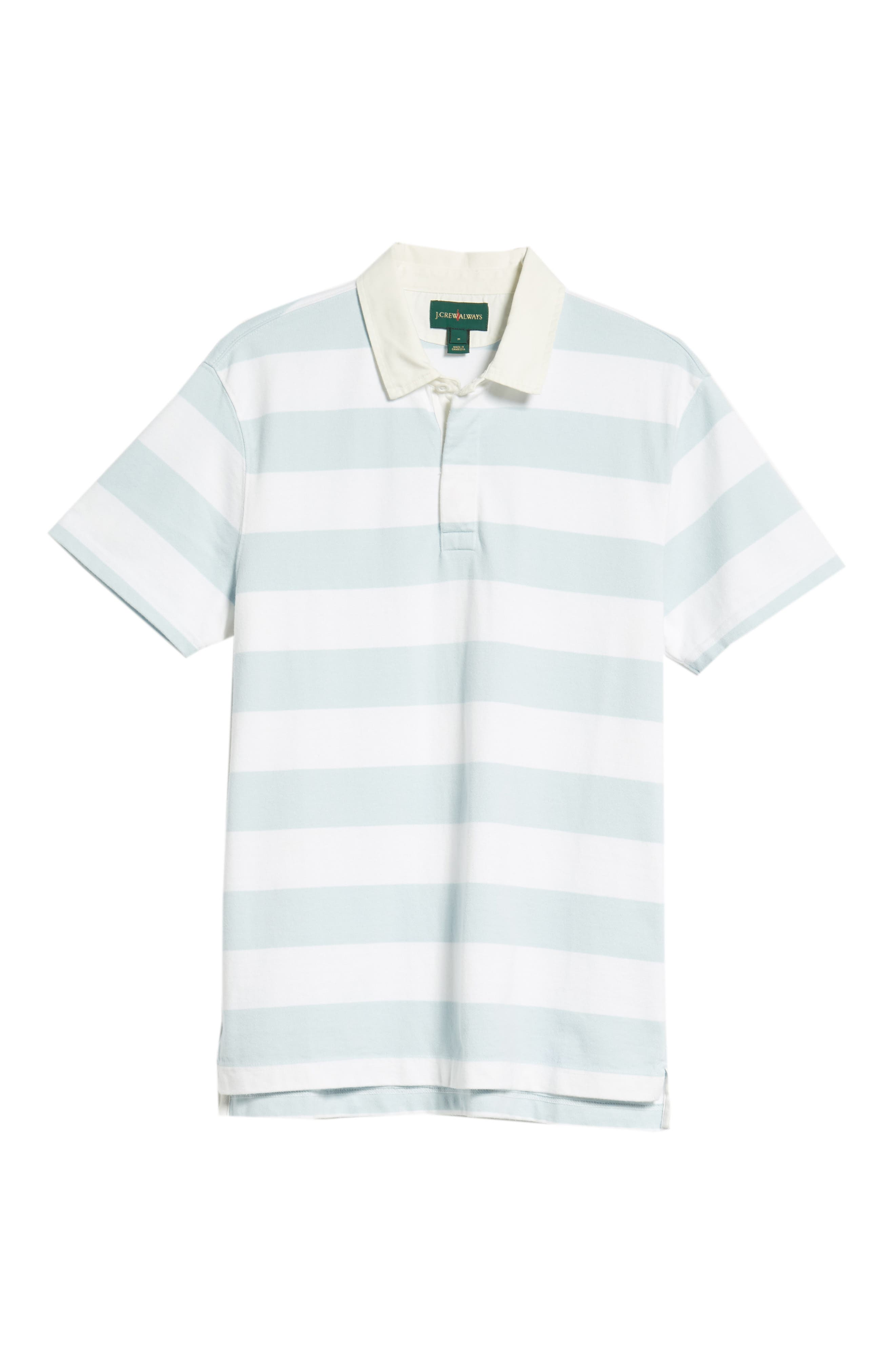 J.CREW,                             1984 Rugby Shirt,                             Alternate thumbnail 6, color,                             100