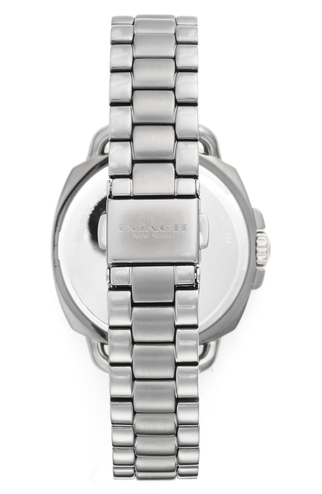 'Tatum' Square Bracelet Watch, 36mm,                             Alternate thumbnail 2, color,                             020