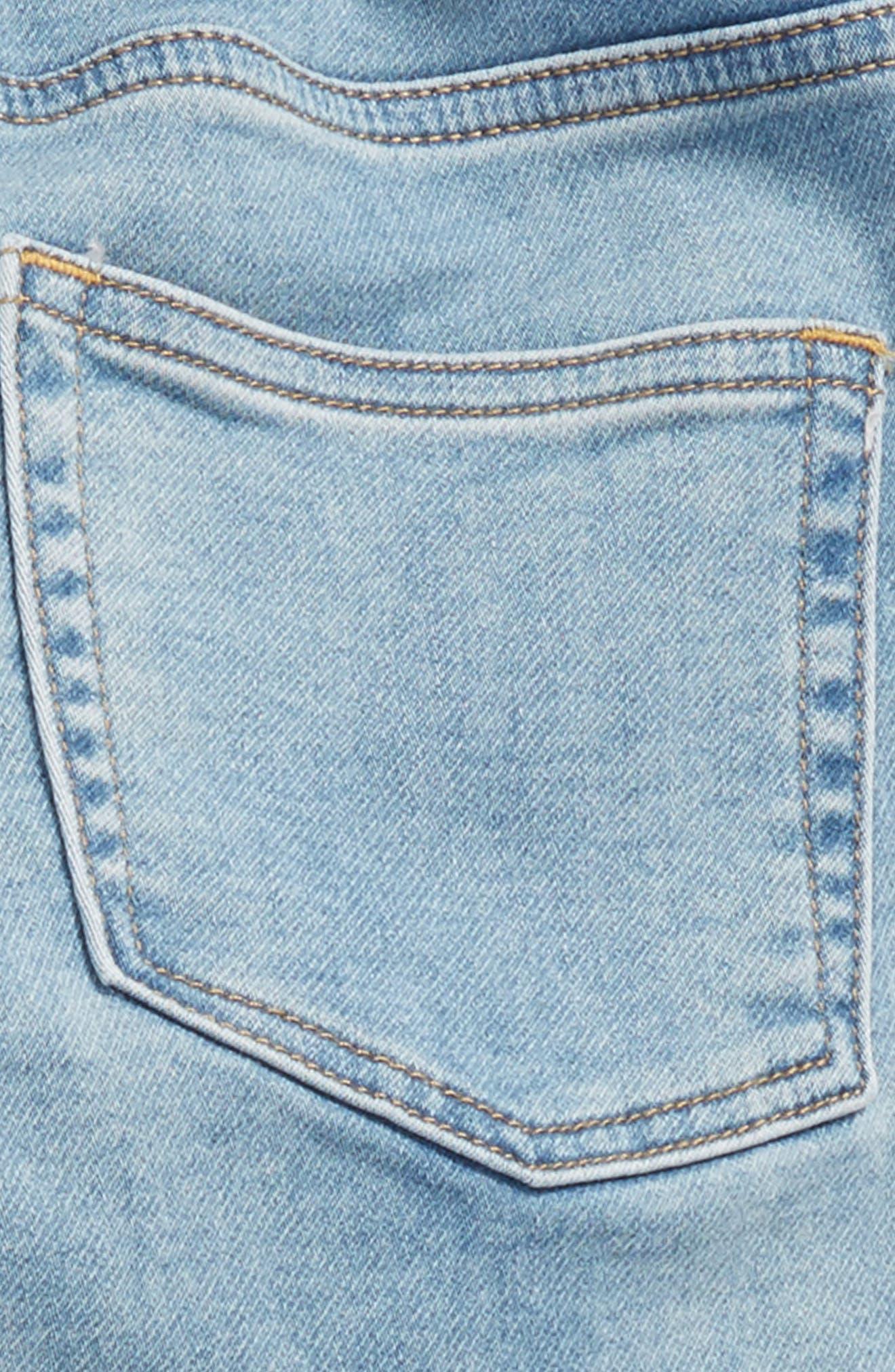 Runaround Stretch Denim Jeans,                             Alternate thumbnail 3, color,                             PATCHWORK WASH