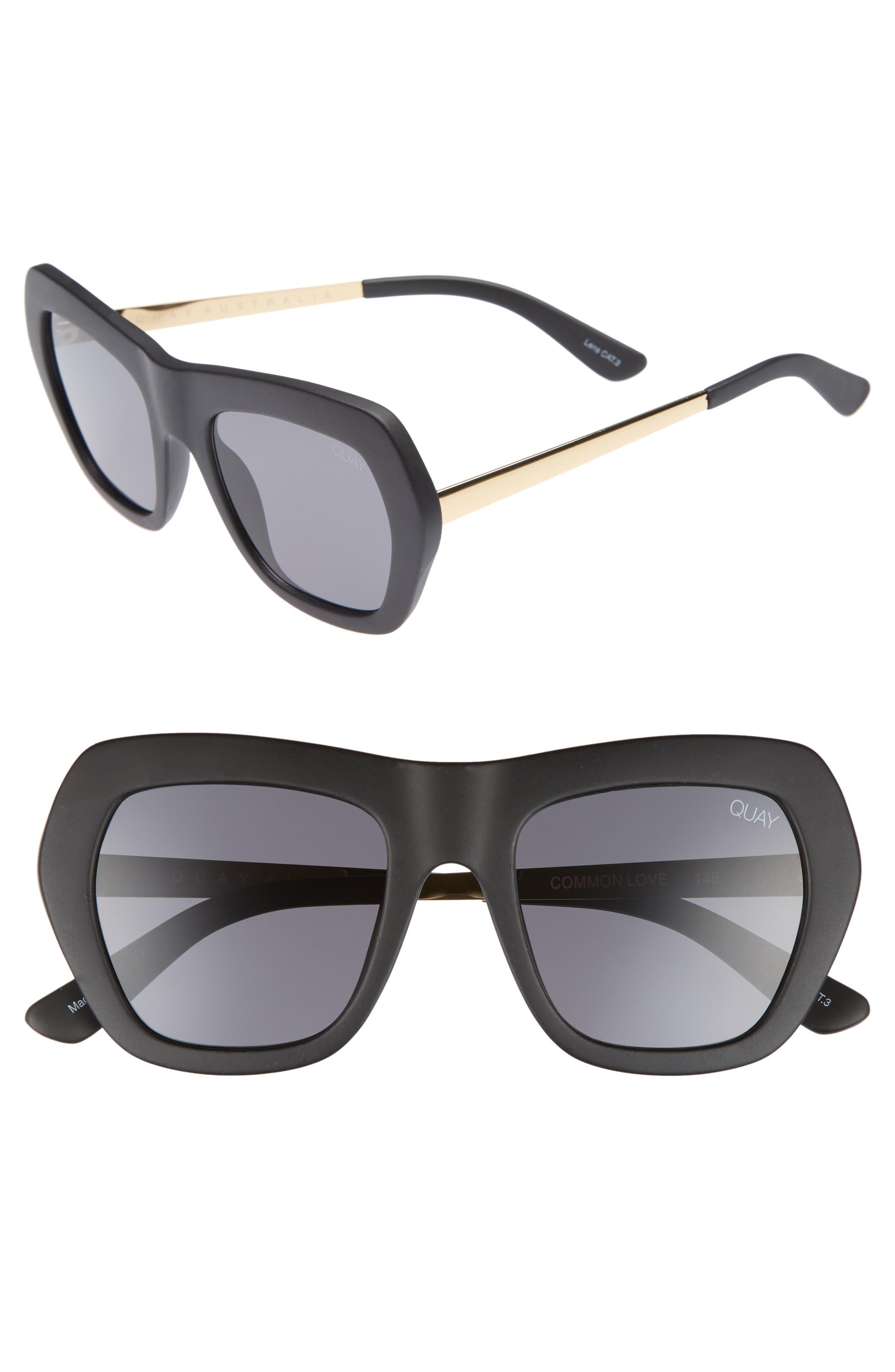 Common Love 53mm Square Sunglasses,                         Main,                         color,