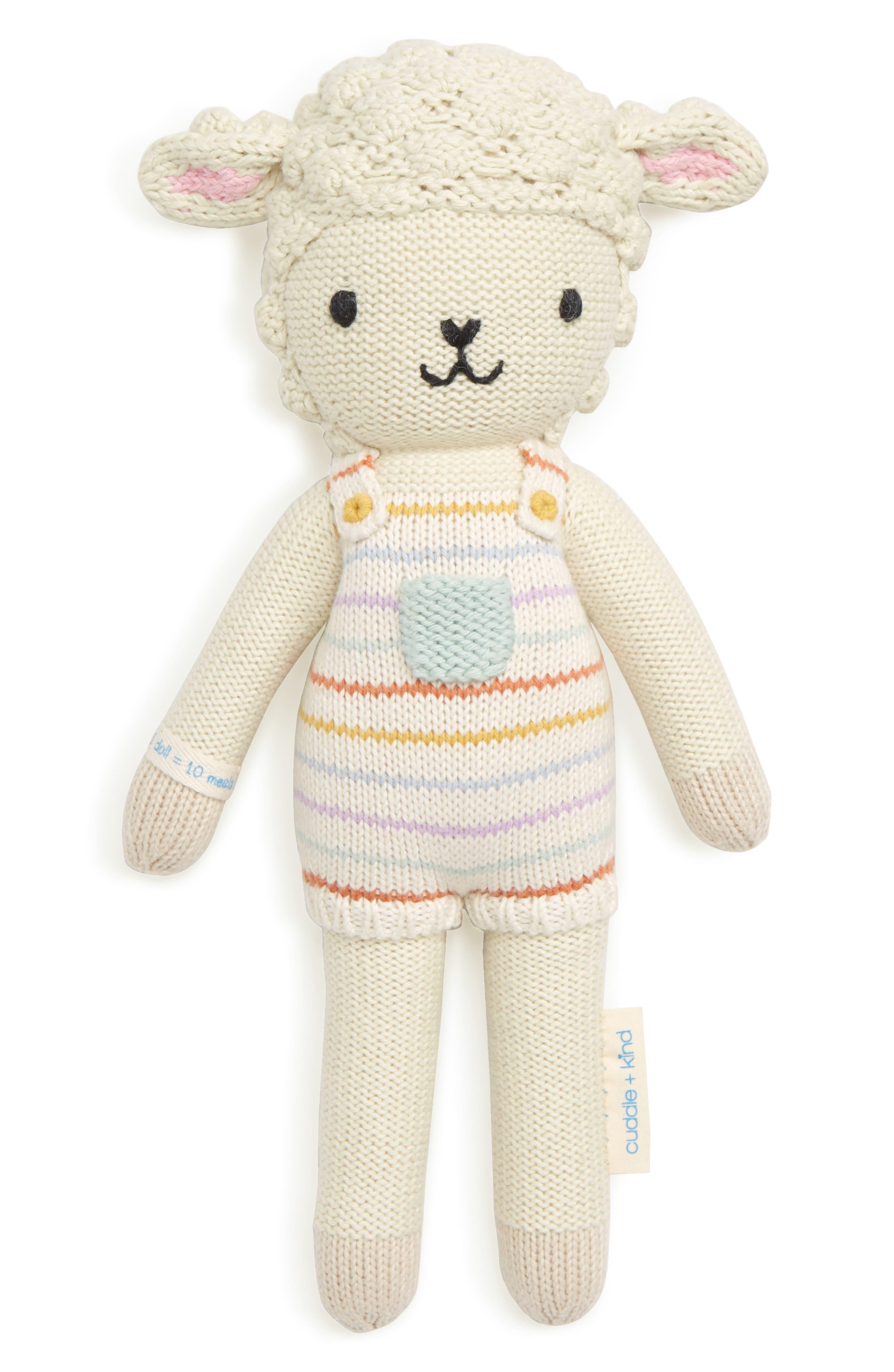 cuddle + kind Avery the Lamb Stuffed Animal,                         Main,                         color, 100