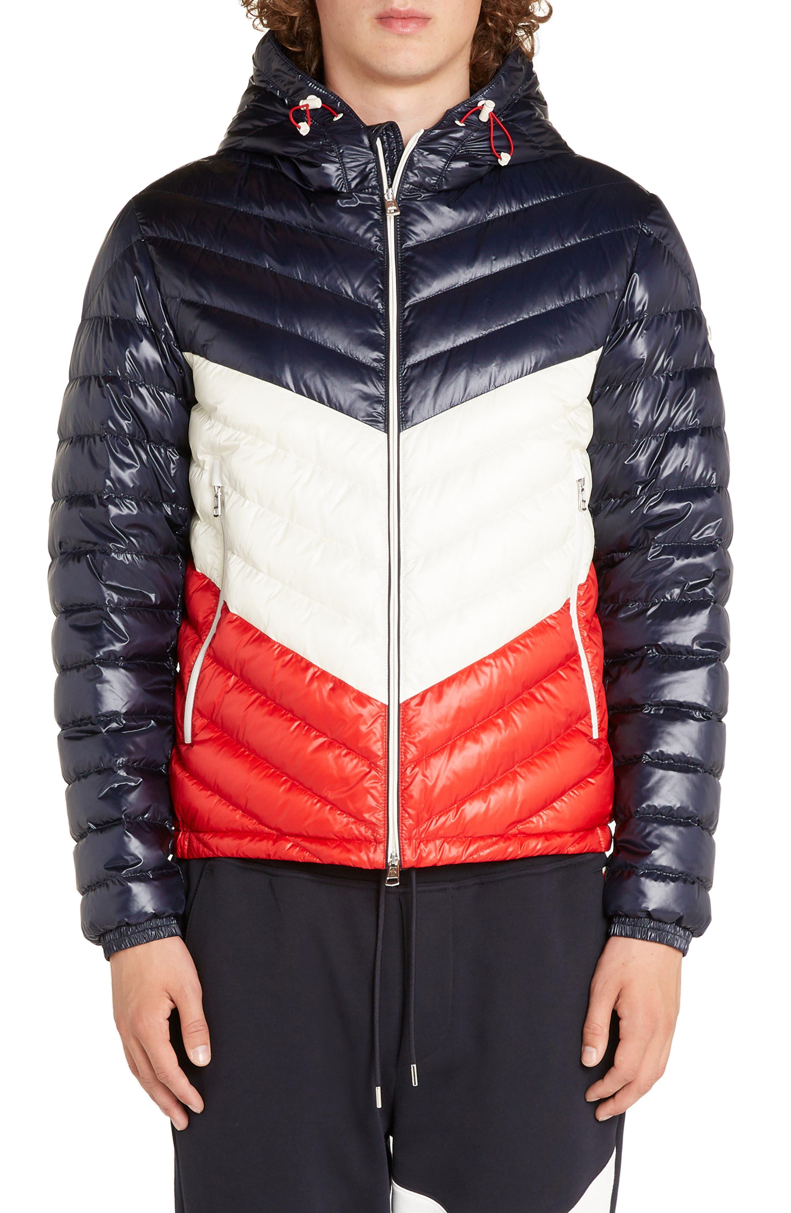 Palliser Colorblock Hooded Jacket,                         Main,                         color, BLUE