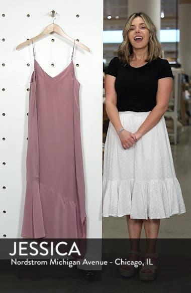 Jada Asymmetrical Silk Slip Dress, sales video thumbnail