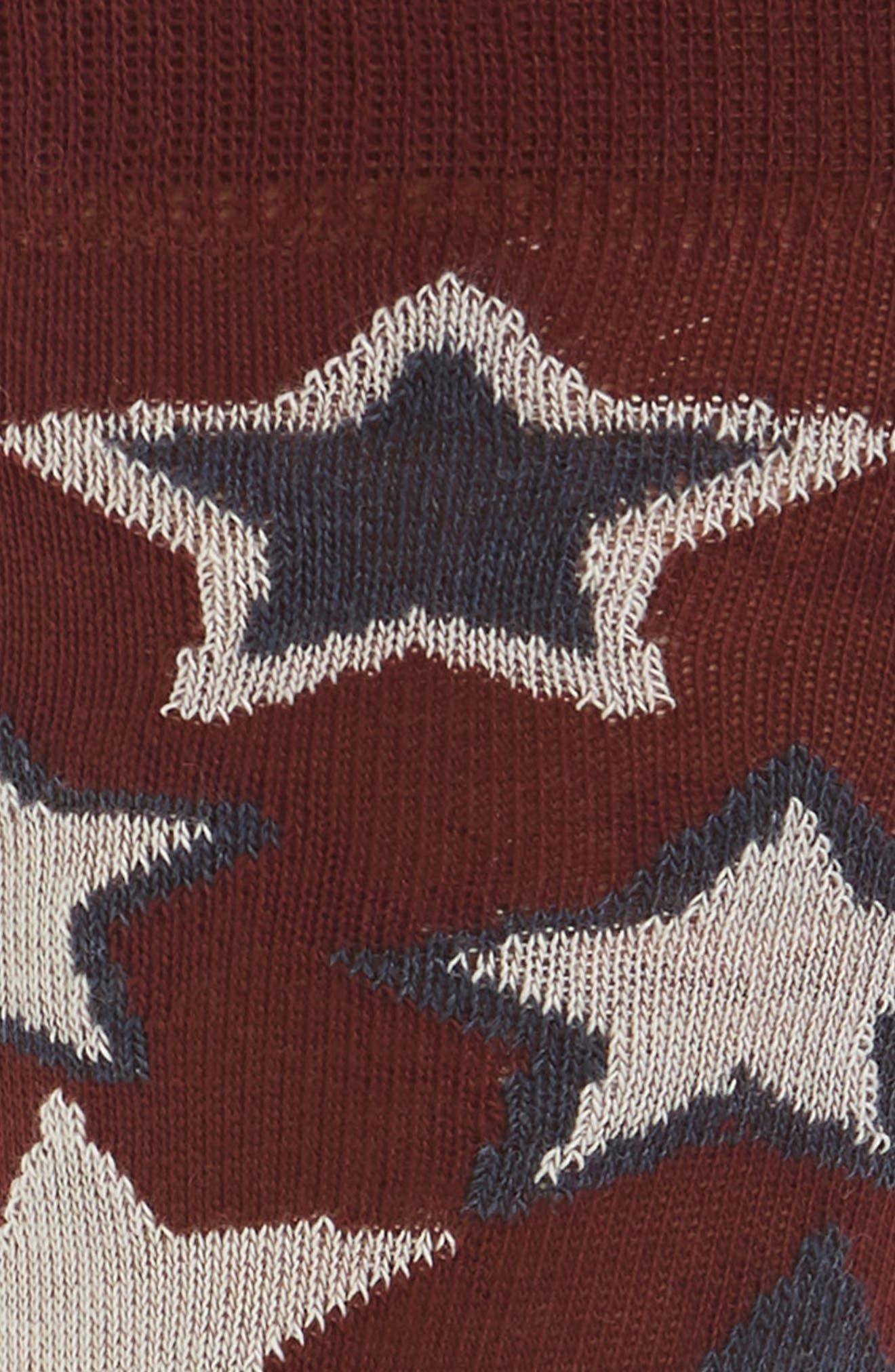 Red Stars Crew Socks,                             Alternate thumbnail 2, color,                             620