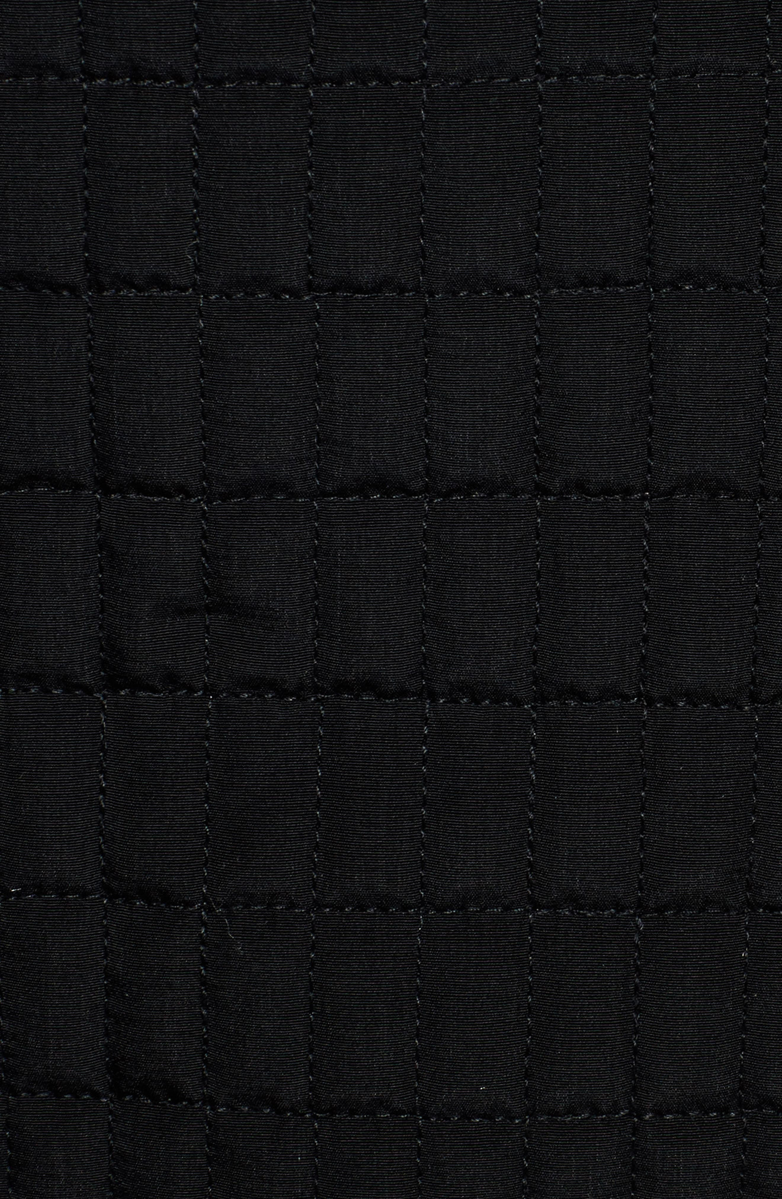 Quilted Jacket,                             Alternate thumbnail 6, color,                             001