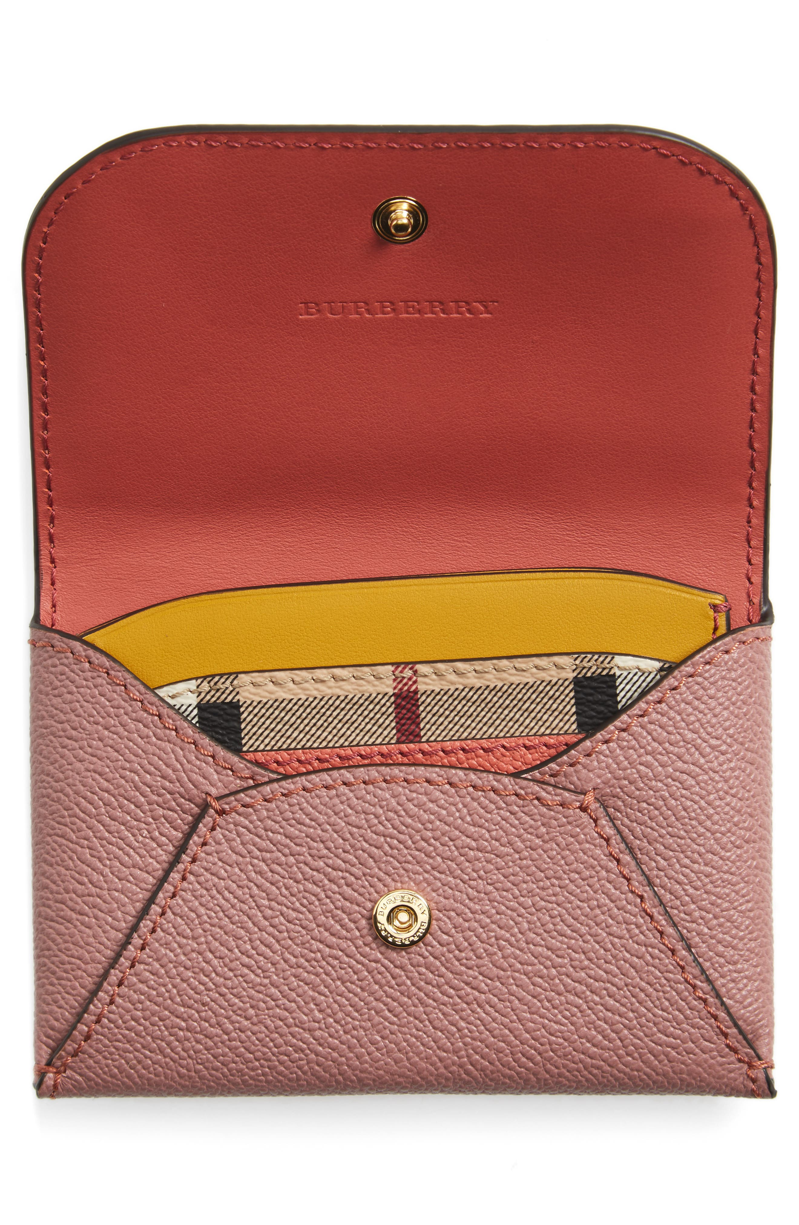 Mayfield Leather Card Case,                             Alternate thumbnail 2, color,