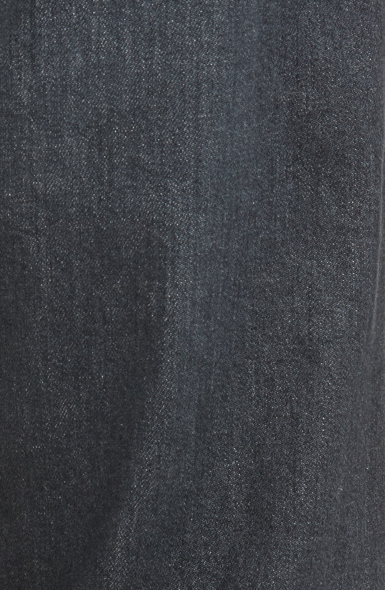 Ives Straight Fit Jeans,                             Alternate thumbnail 5, color,                             015