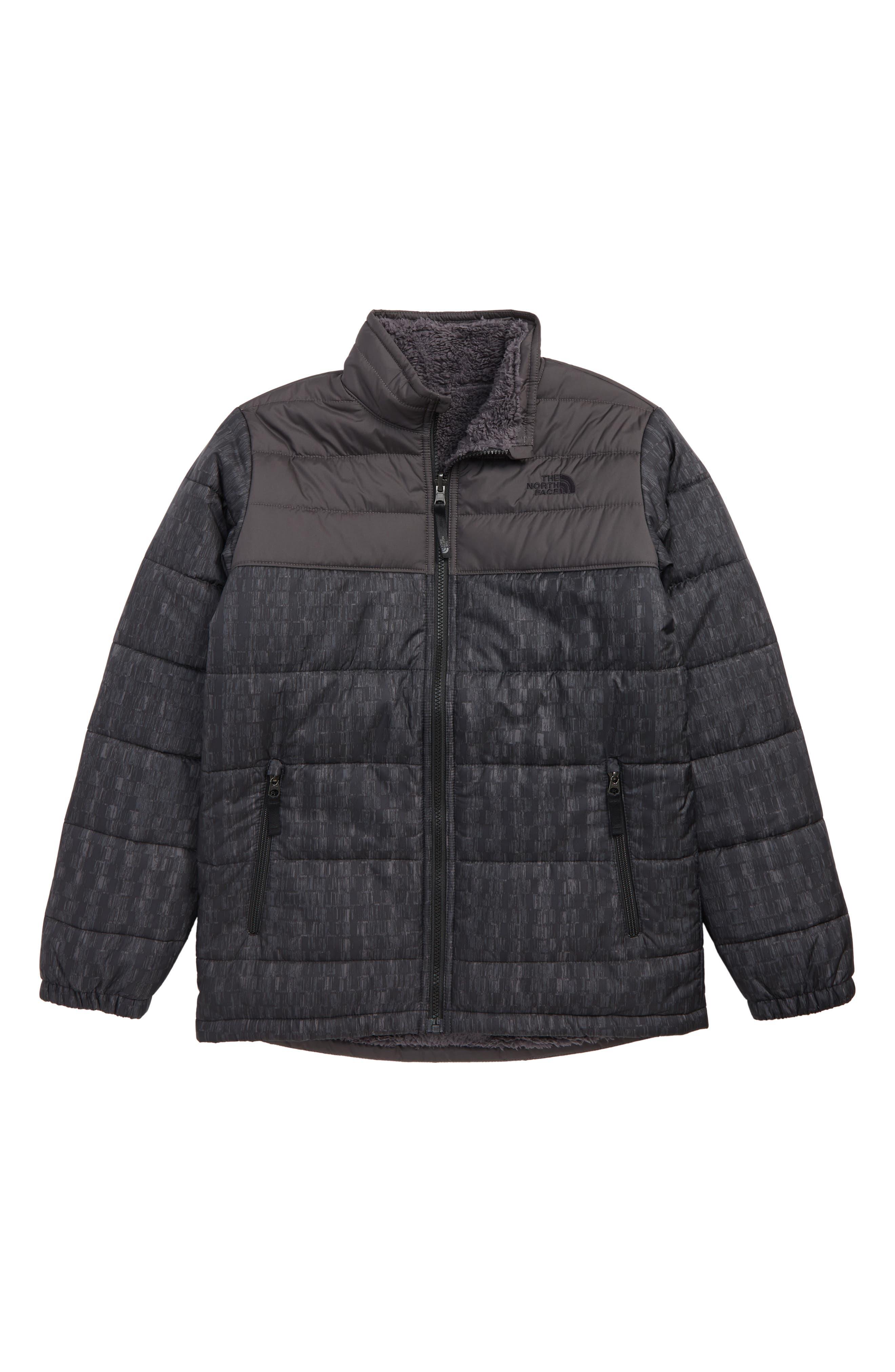 Mount Chimborazo Reversible Jacket,                         Main,                         color, TNF BLACK CHECKER PRINT