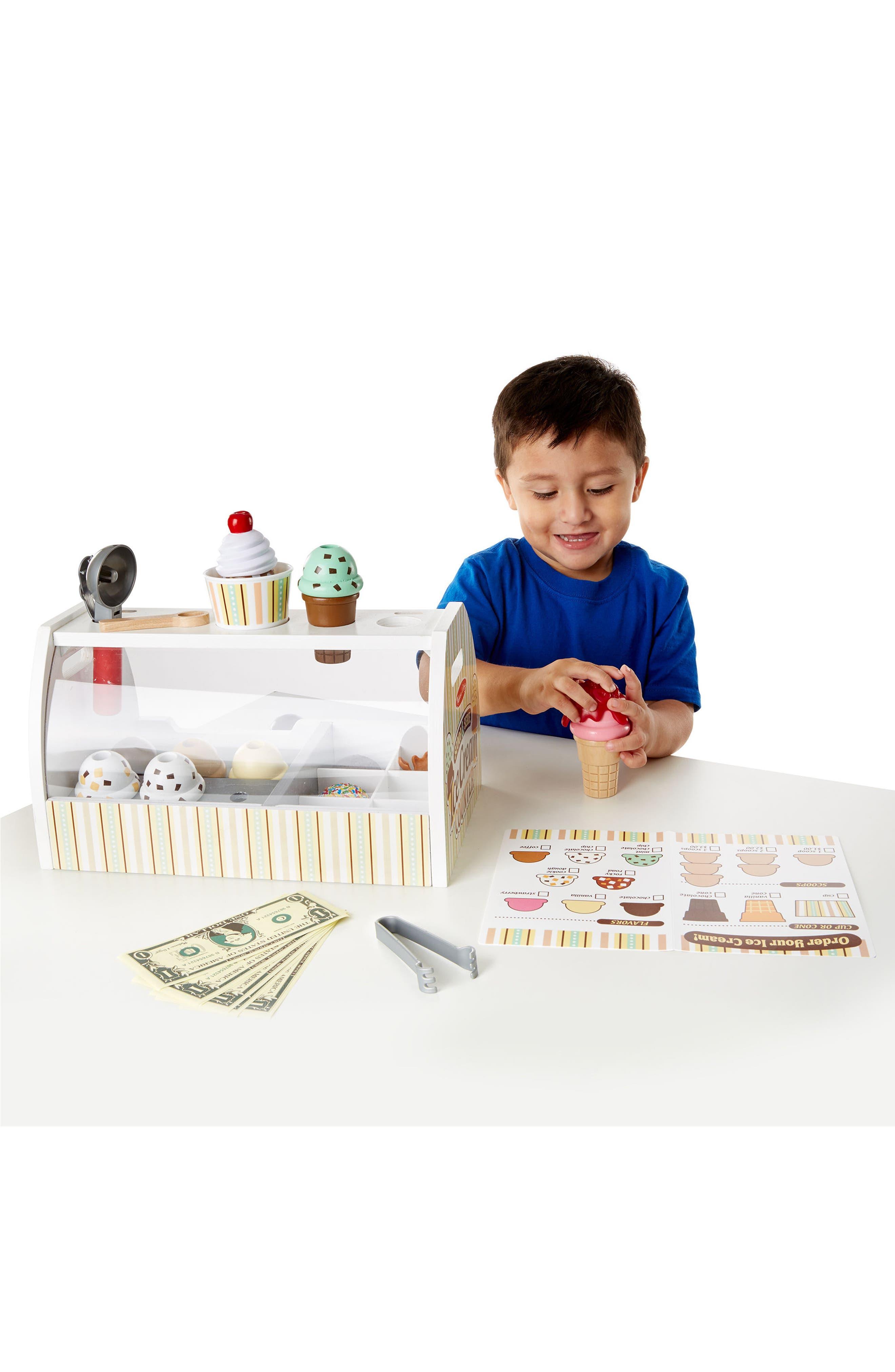 Ice Cream Counter Play Set,                             Alternate thumbnail 4, color,                             MULTI