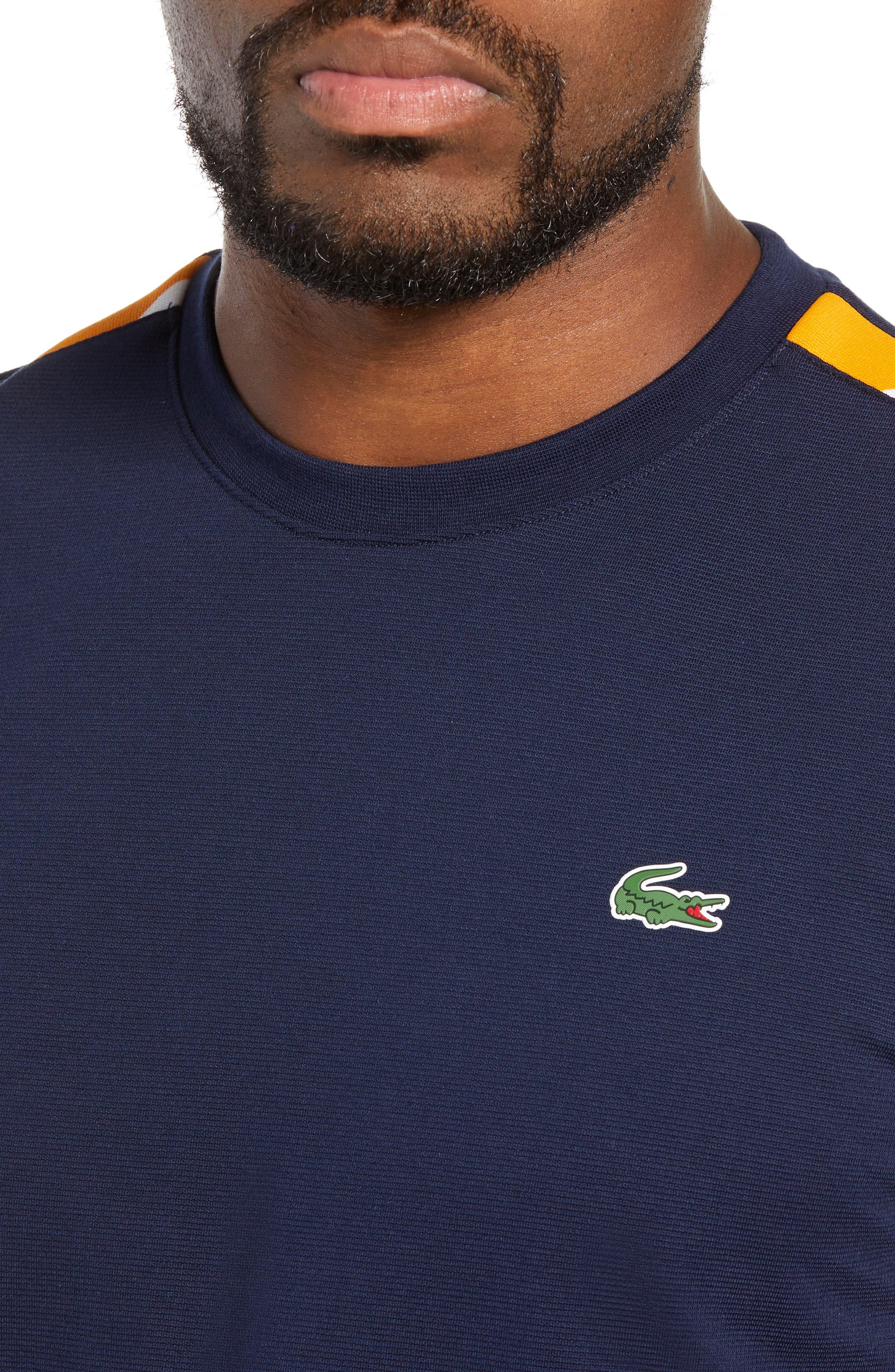 Sport Regular Fit Cotton Tennis T-Shirt,                             Alternate thumbnail 4, color,                             415