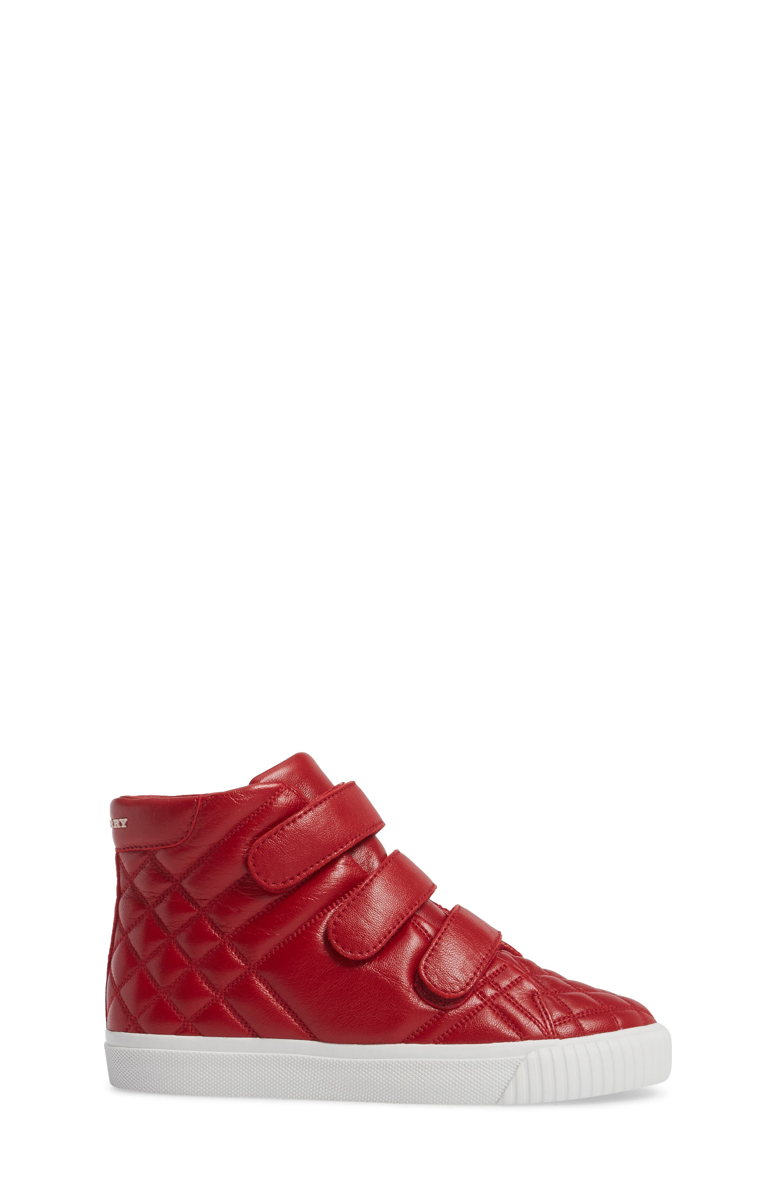 Sturrock Quilted High Top Sneaker,                             Alternate thumbnail 6, color,