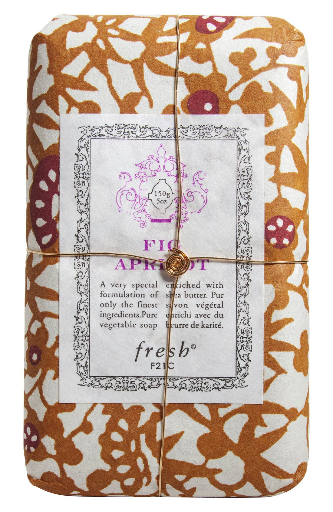 Fig Apricot Petit Soap,                             Main thumbnail 1, color,                             NO COLOR