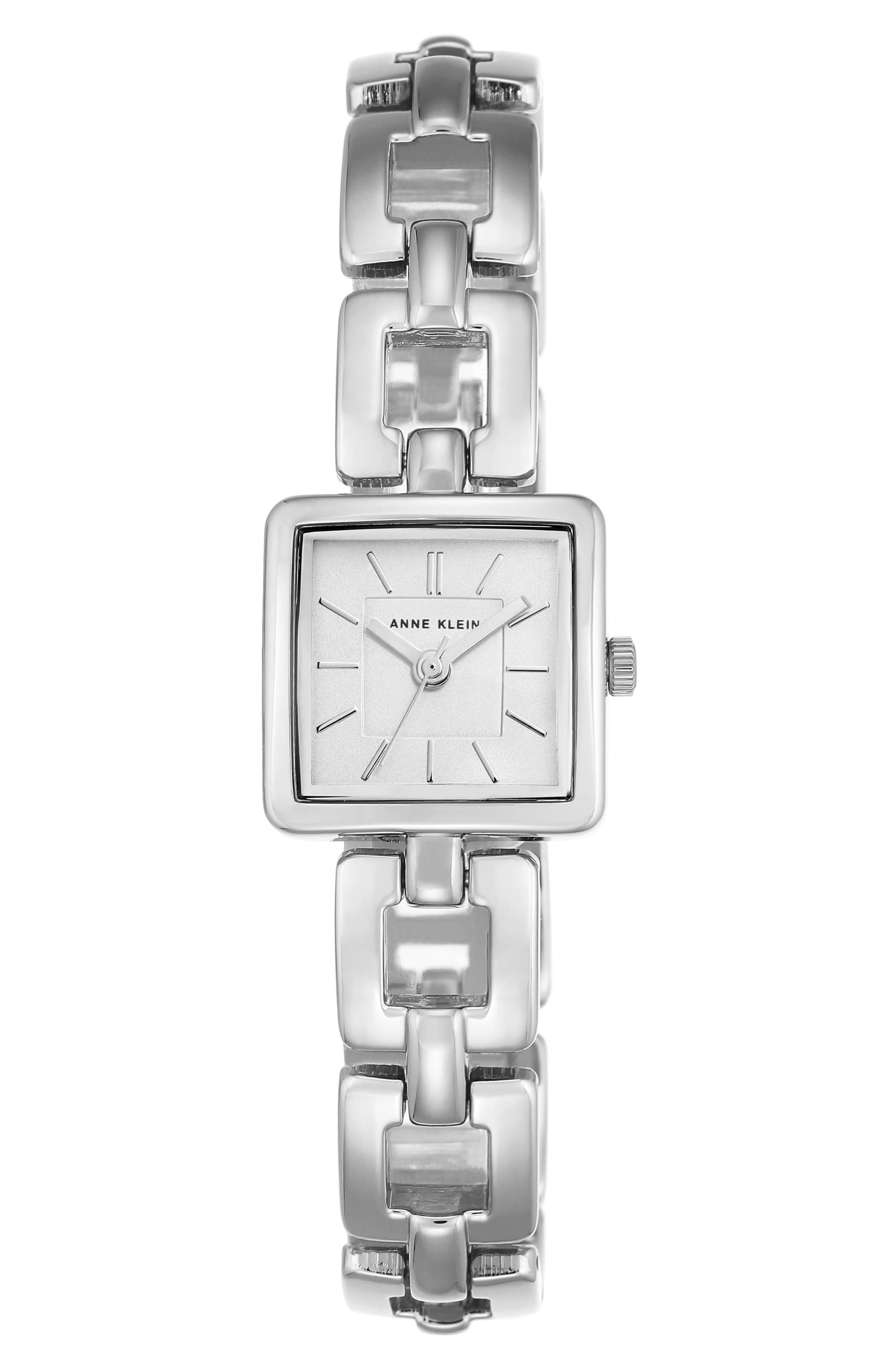 Square Bracelet Watch, 20mm,                         Main,                         color, 041