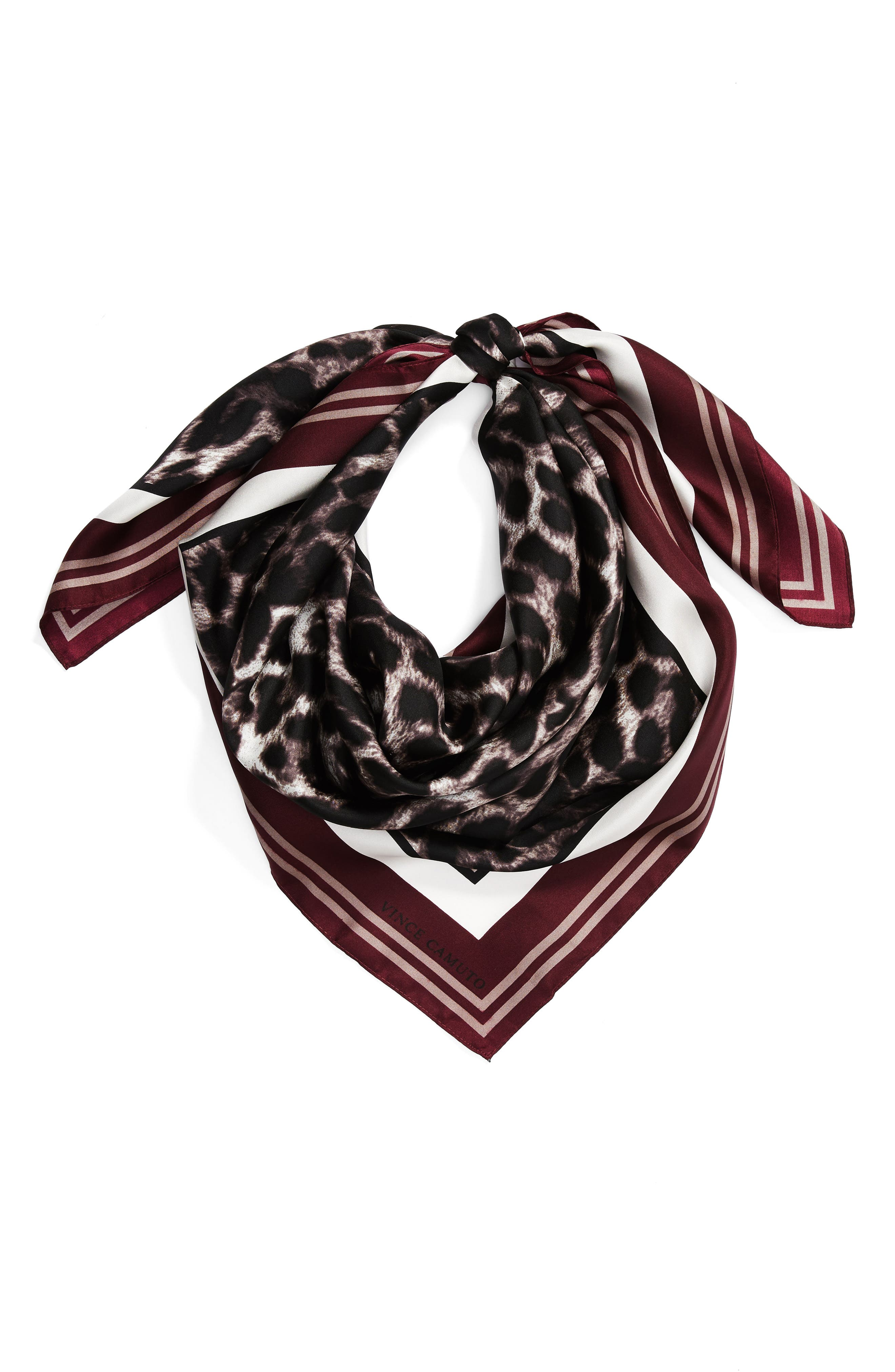 Racing Leopard Silk Square Scarf,                             Alternate thumbnail 2, color,                             107