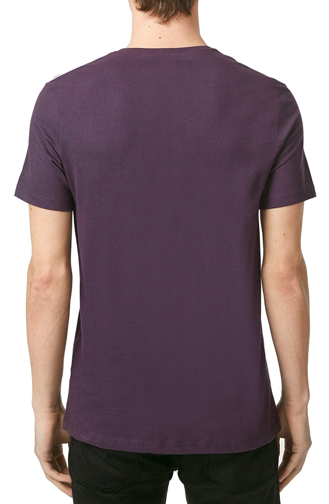 Slim Fit Crewneck T-Shirt,                             Alternate thumbnail 415, color,