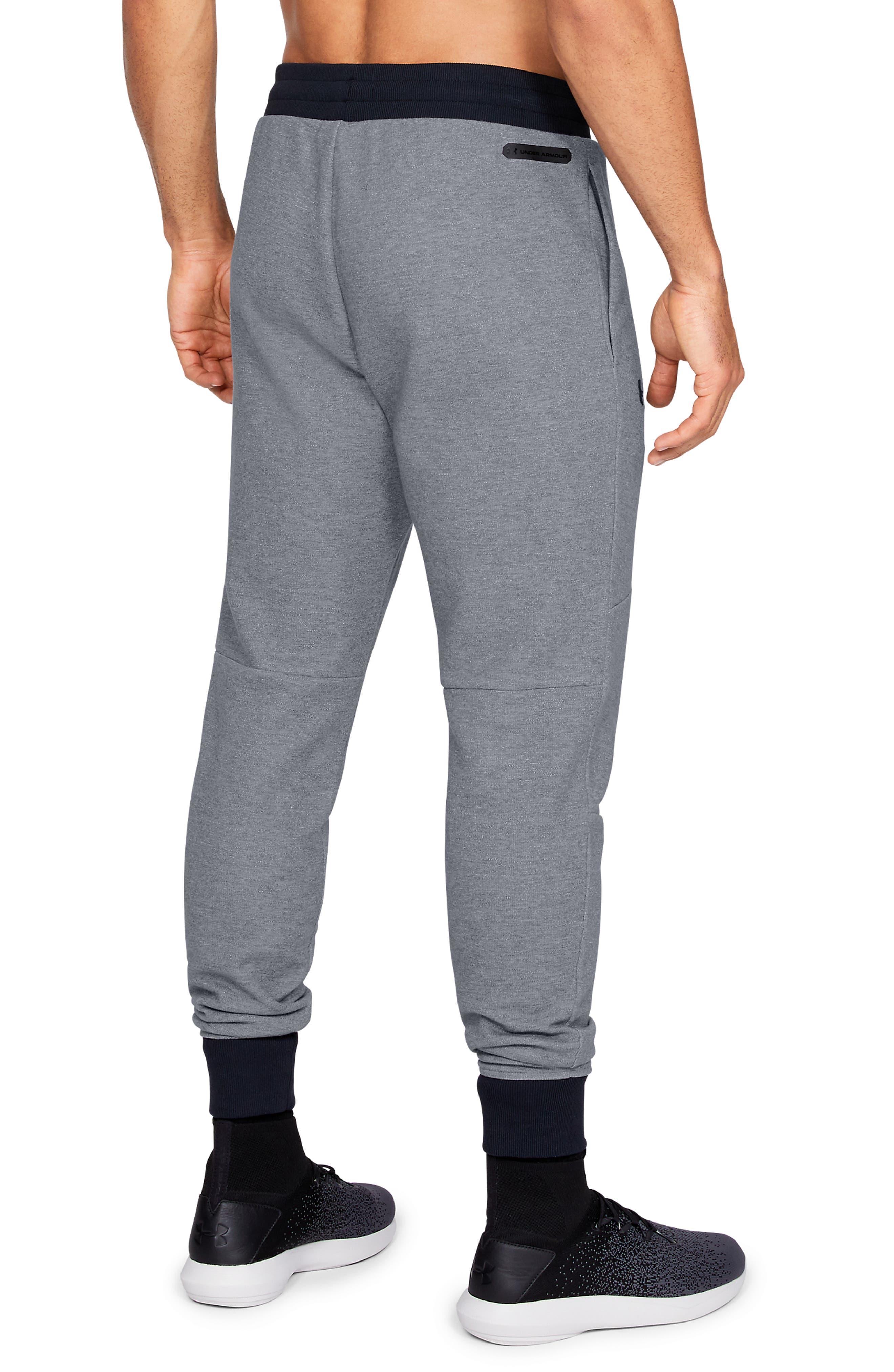 Unstoppable Double Knit Jogger Pants,                             Alternate thumbnail 2, color,                             STEEL