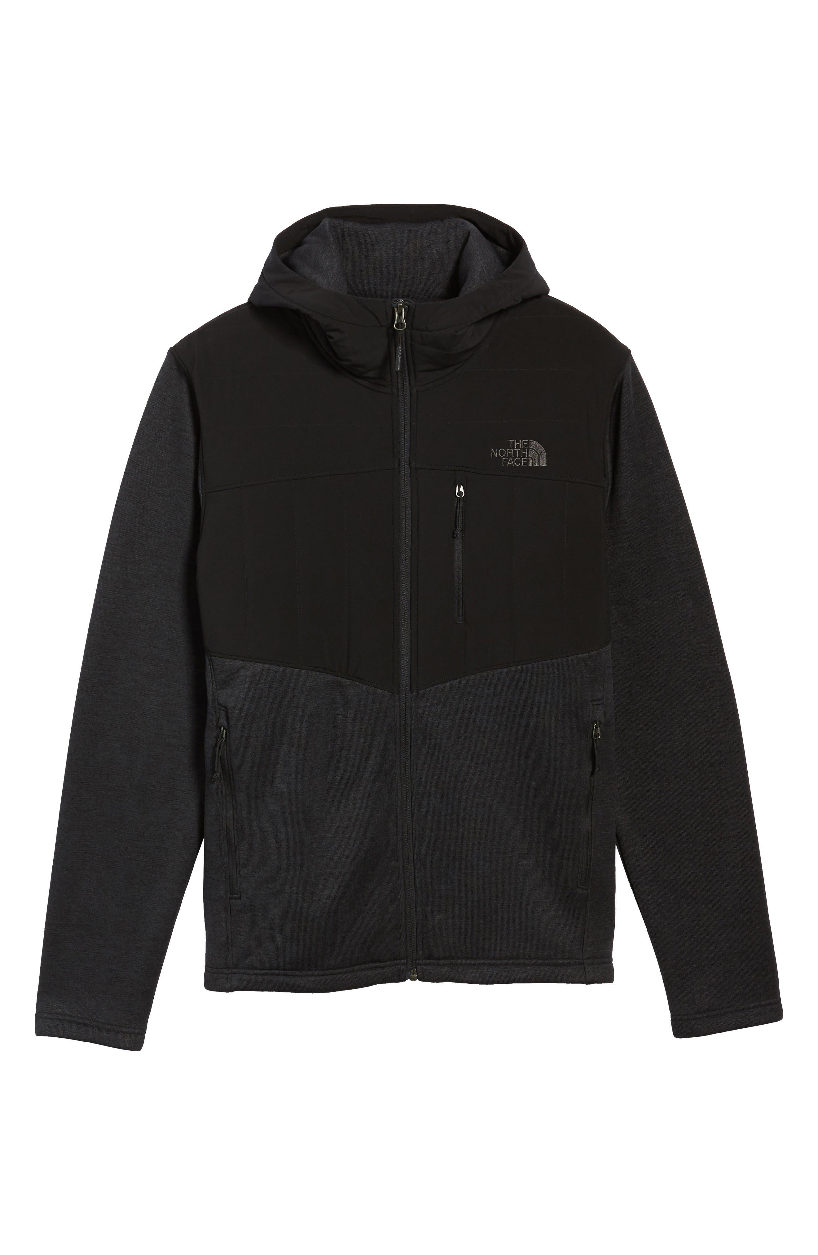 Norris Insulated Fleece Jacket,                             Alternate thumbnail 6, color,