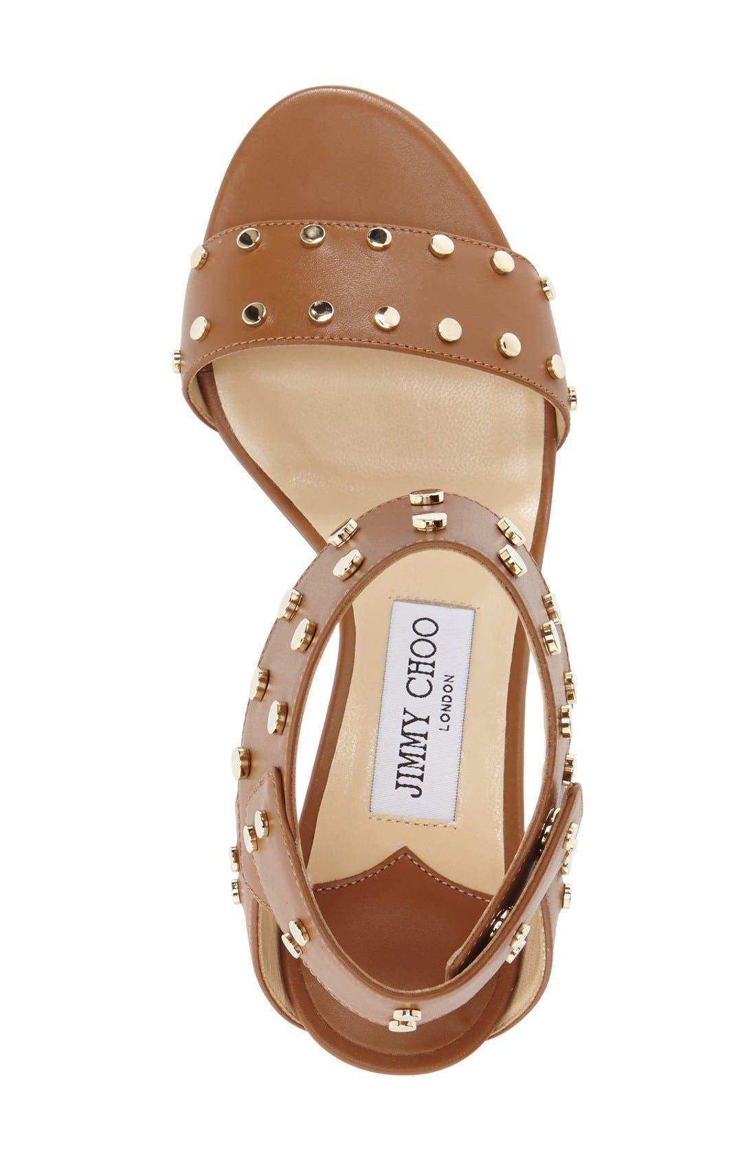 'Veto' Studded Sandal,                             Alternate thumbnail 10, color,