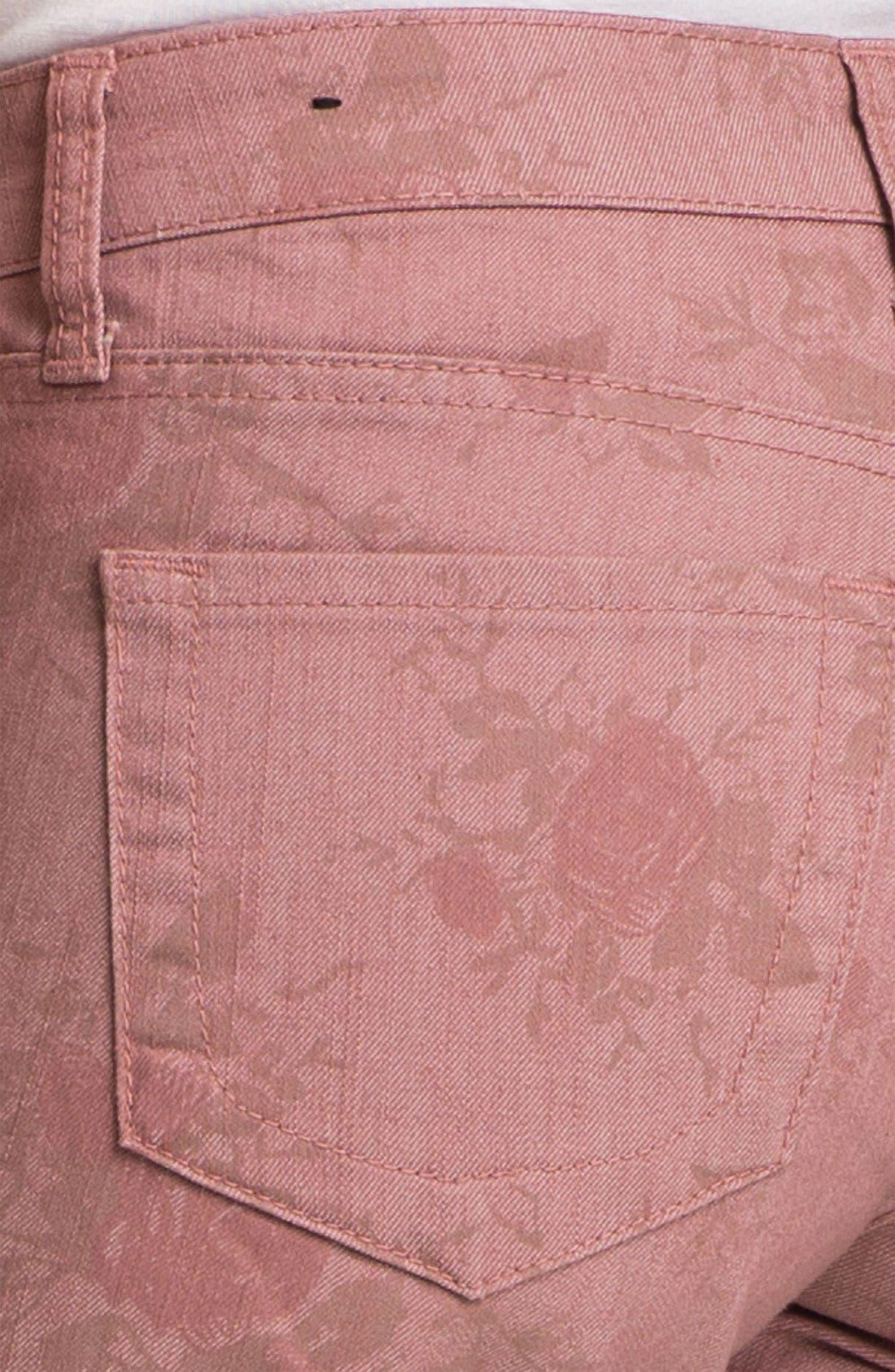 'Diana' Print Skinny Jeans,                             Alternate thumbnail 2, color,