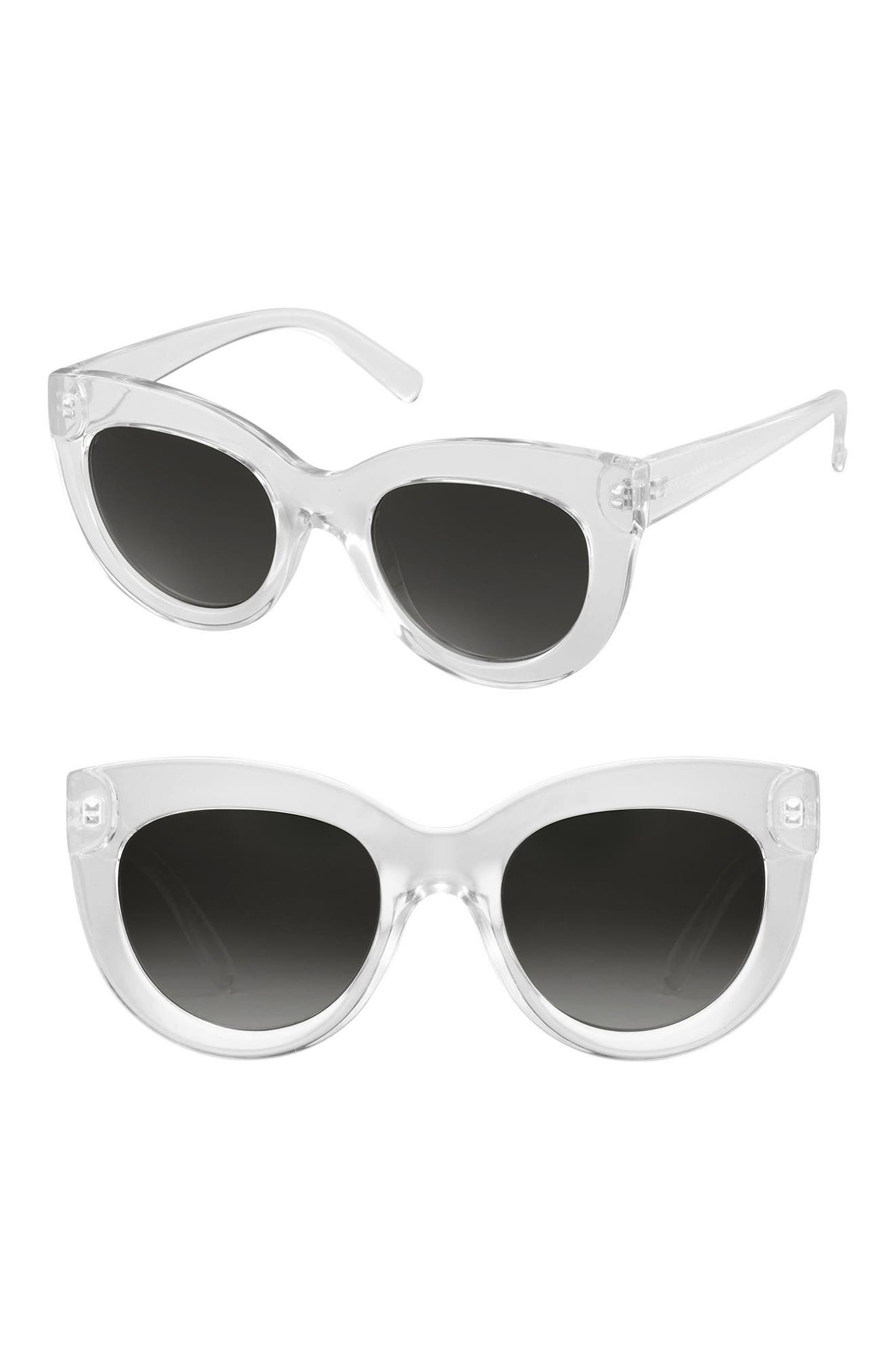 Repost Cat Eye Sunglasses,                             Main thumbnail 1, color,                             100