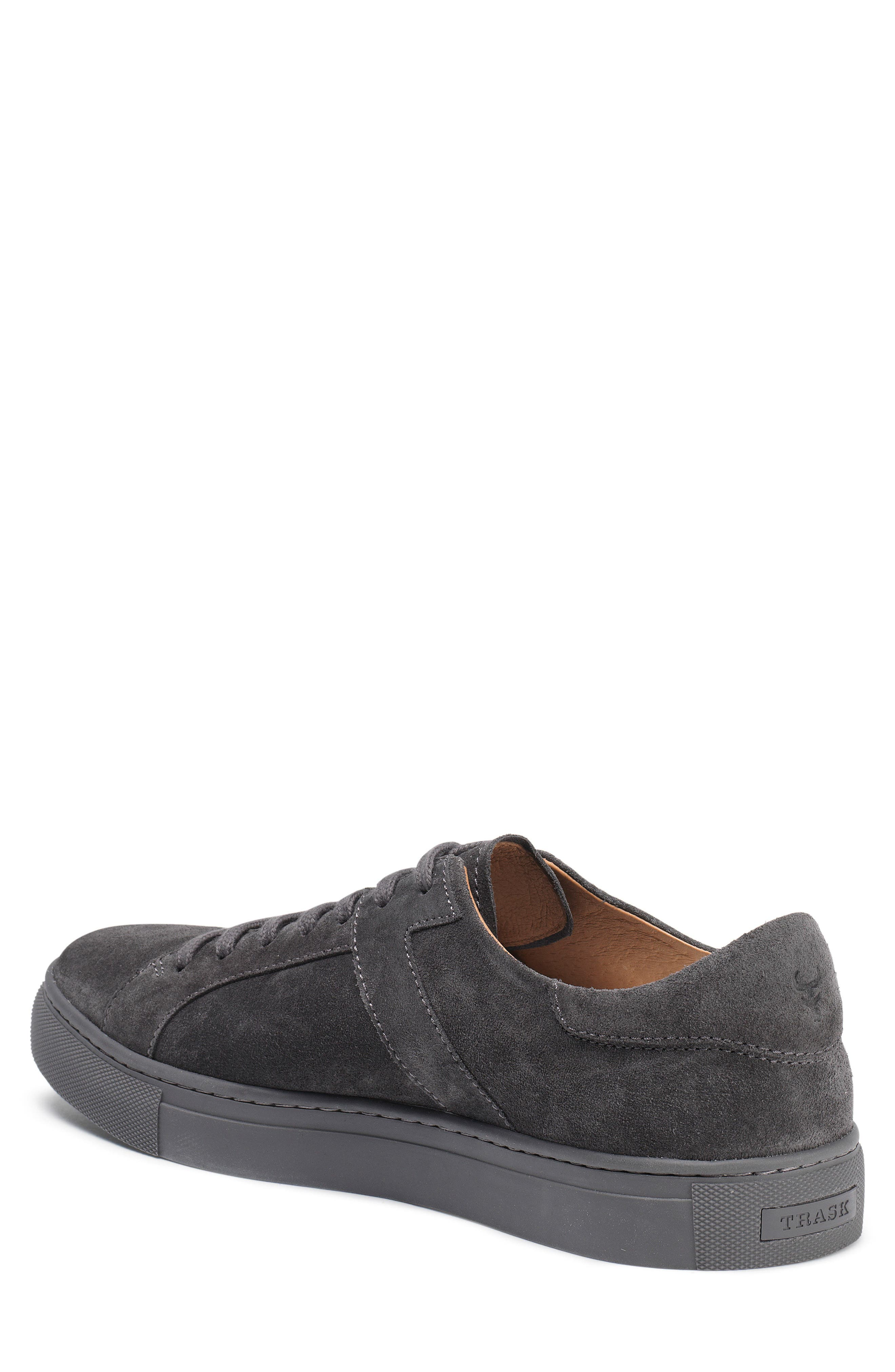 Aaron Sneaker,                             Alternate thumbnail 2, color,                             GRAY SUEDE